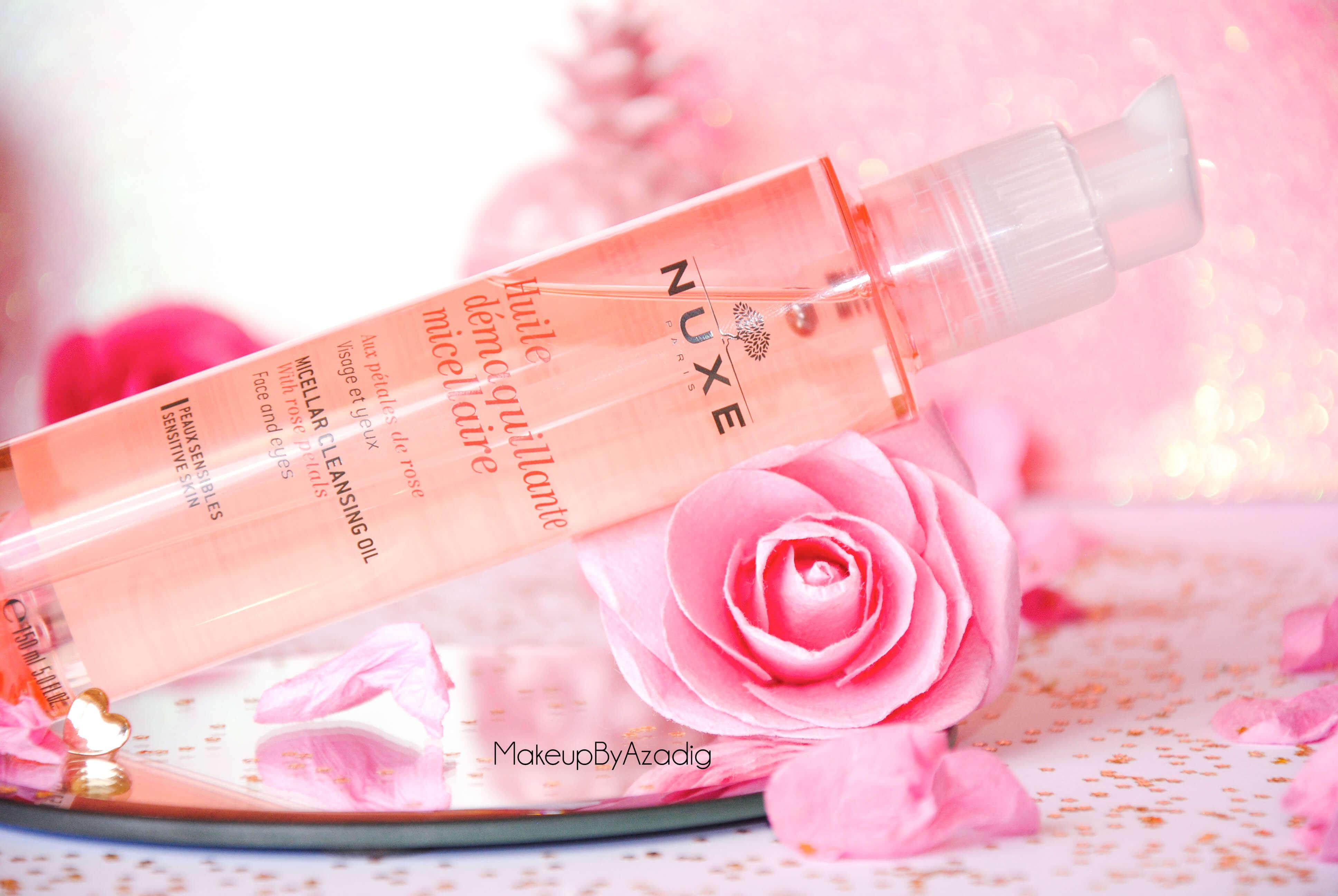 makeupbyazadig-huile-demaquillante-micellaire-nuxe-petales-de-rose-doctipharma-revue-avis-prix-soin