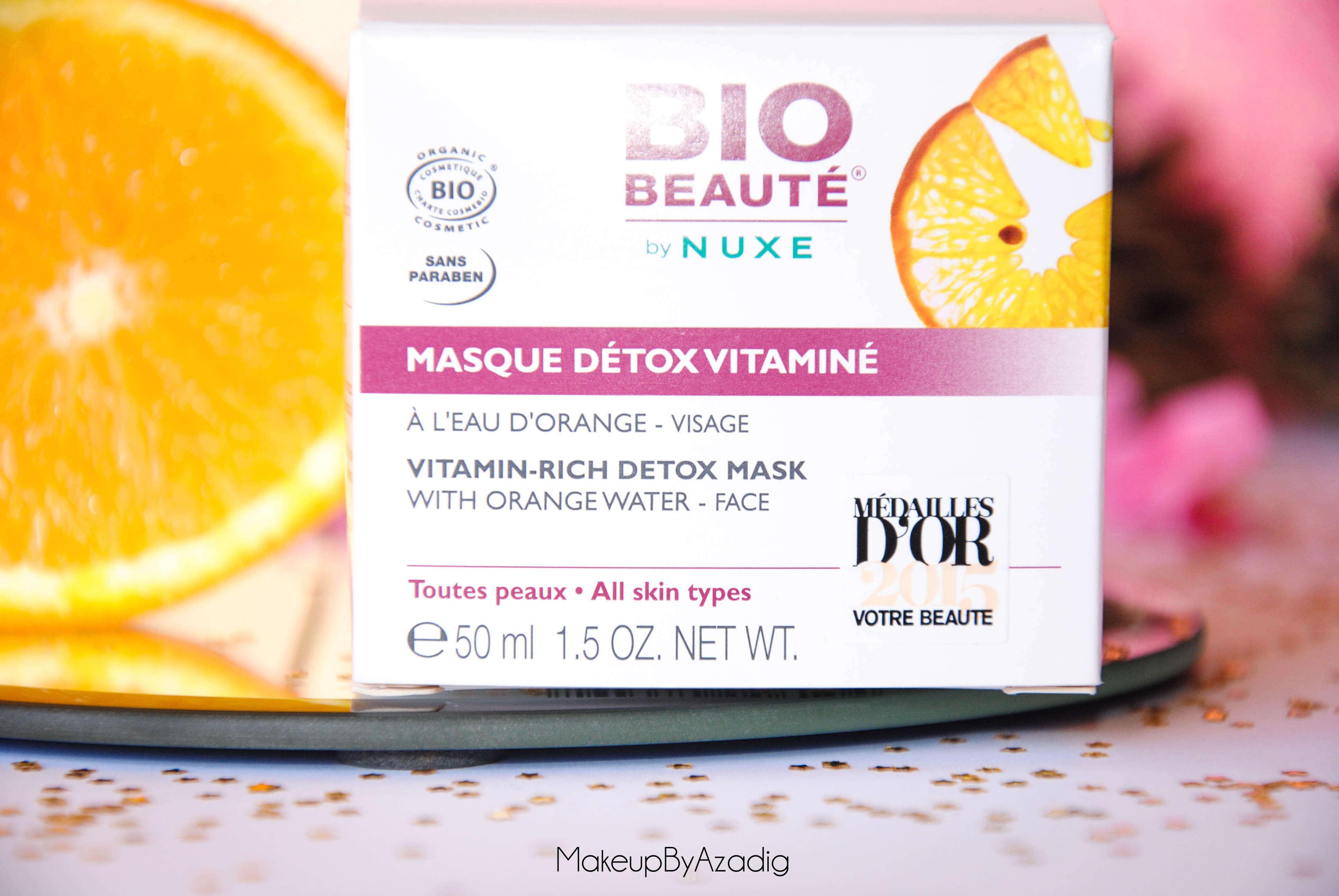 masque-detox-vitamine-bio-beaute-nuxe-makeupbyazadig-pas-cher-avis-revue-doctipharma-troyes-influencer
