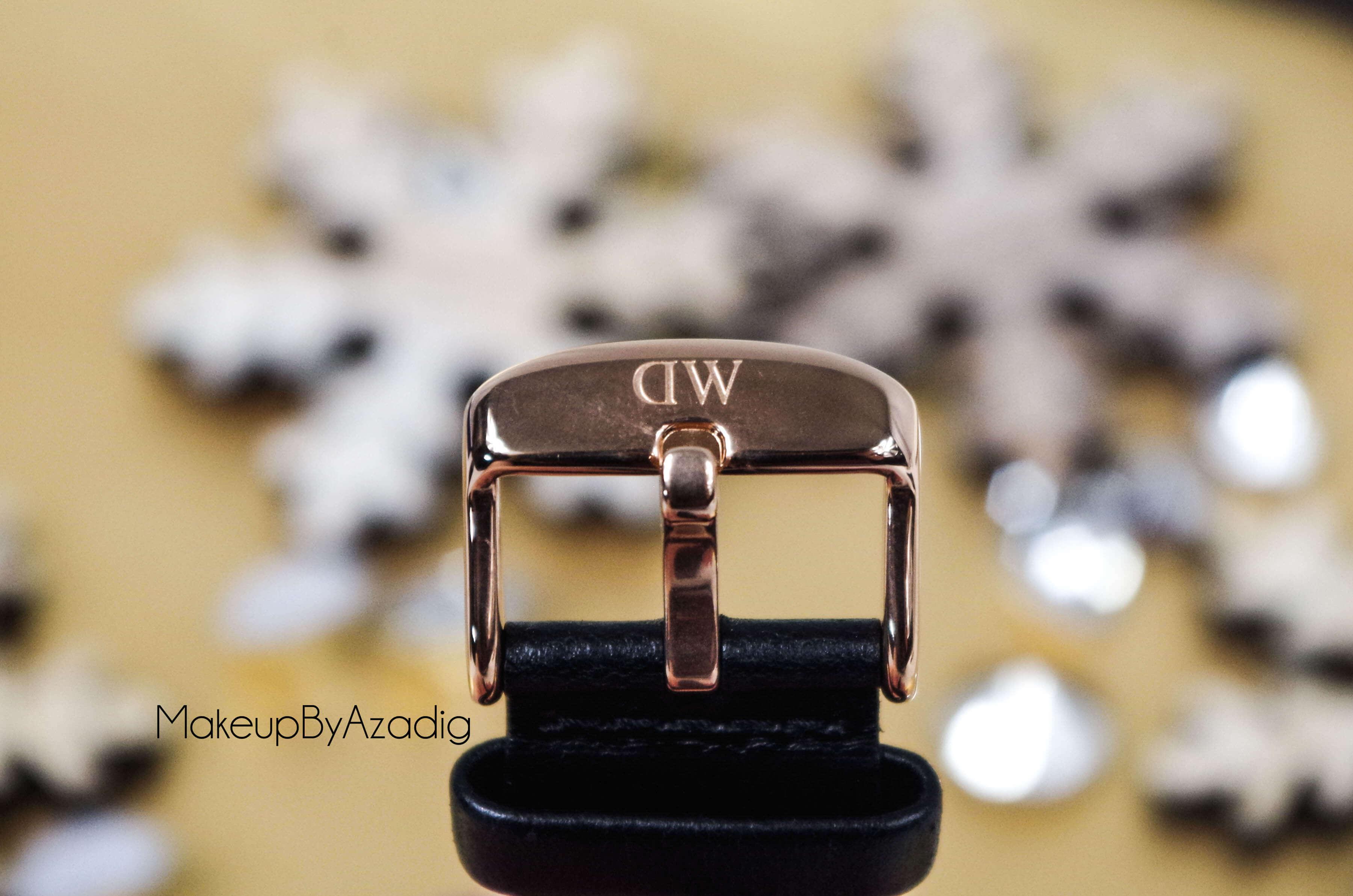 makeupbyazadig-daniel-wellington-montre-classic-black-sheffield-code-promo-troyes-paris-avis