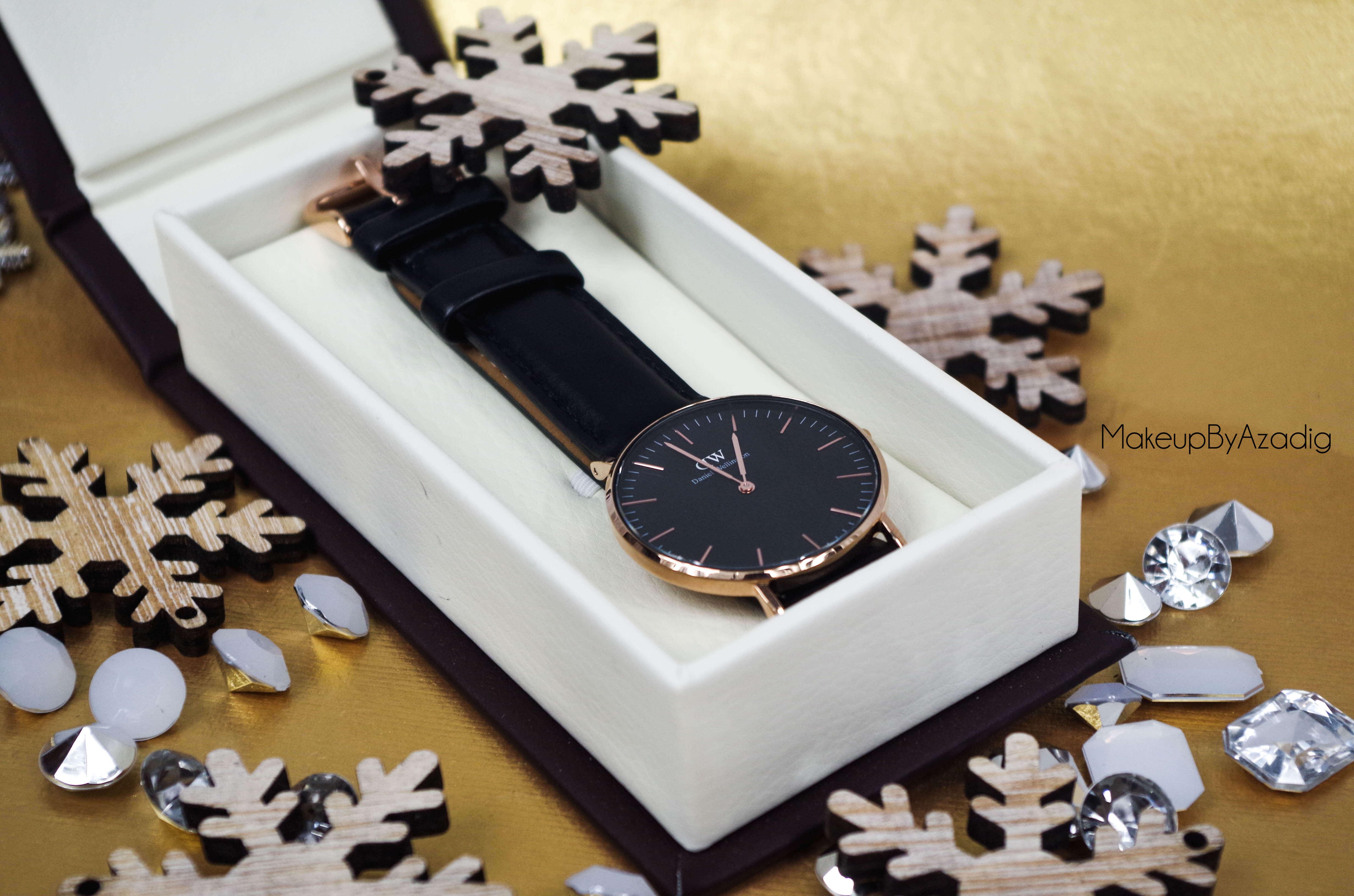makeupbyazadig-daniel-wellington-montre-classic-black-sheffield-code-promo-troyes-paris-chic
