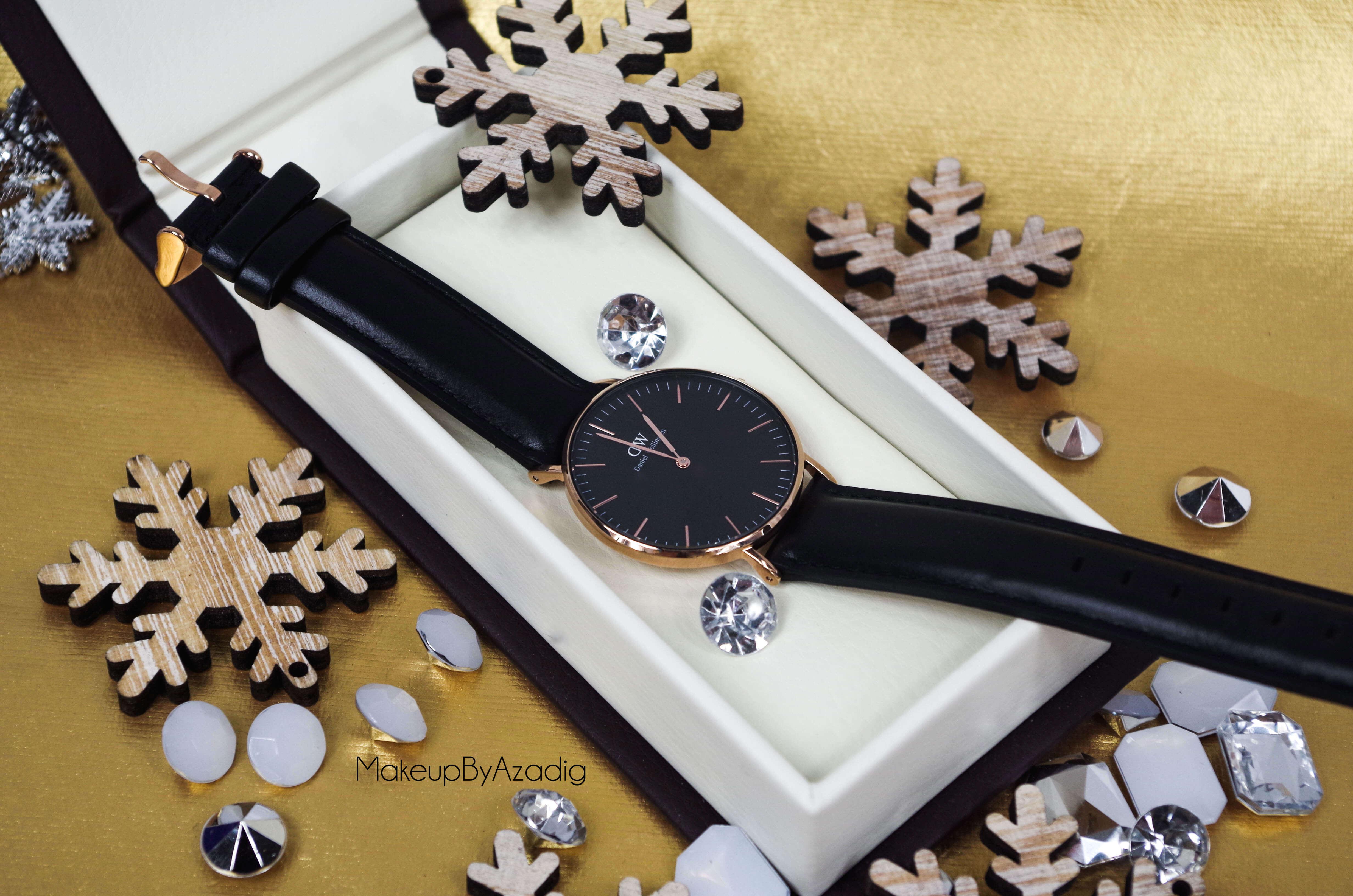 makeupbyazadig-daniel-wellington-montre-classic-black-sheffield-code-promo-troyes-paris-diamond
