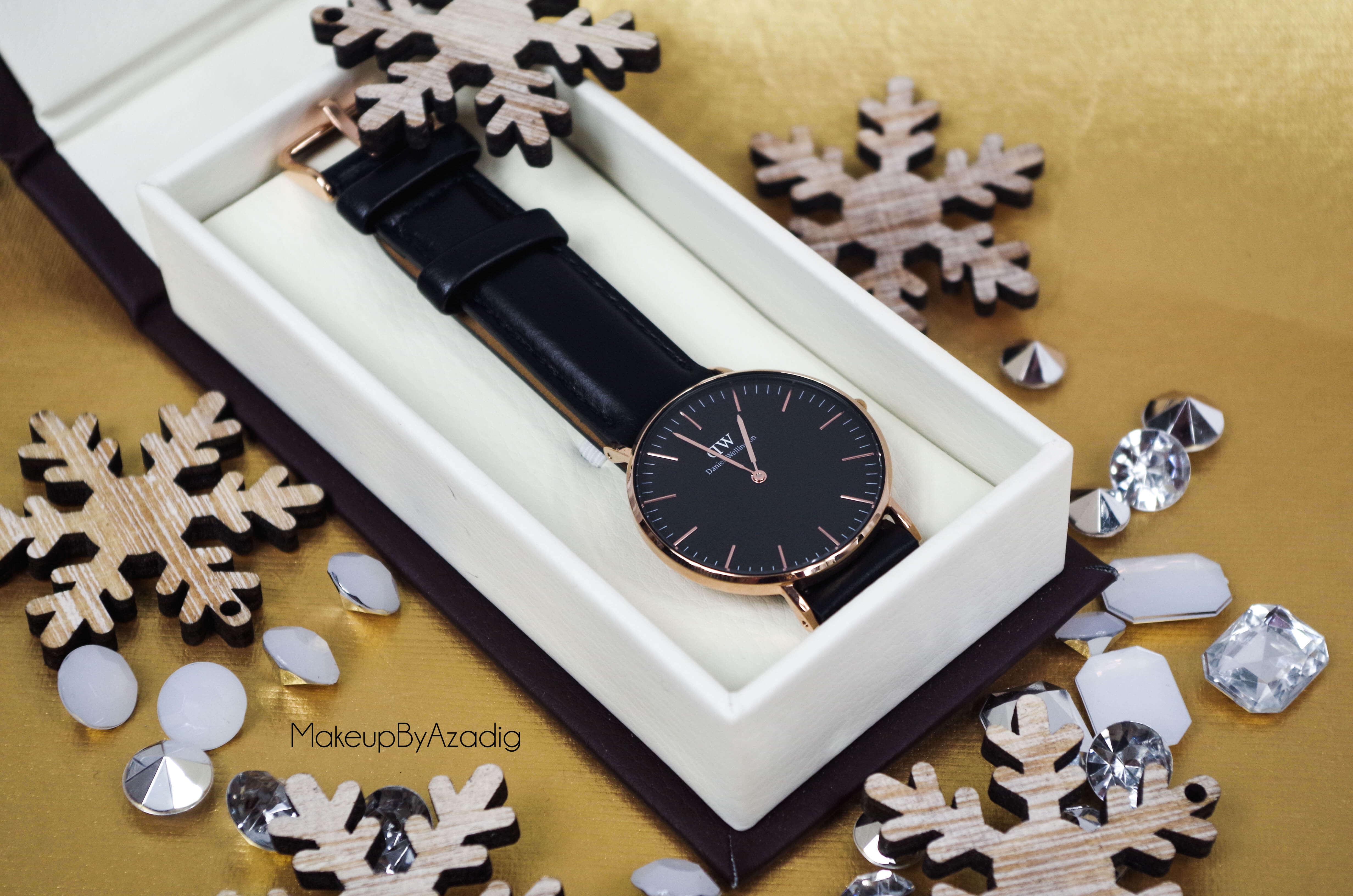 makeupbyazadig-daniel-wellington-montre-classic-black-sheffield-code-promo-troyes-paris-rose