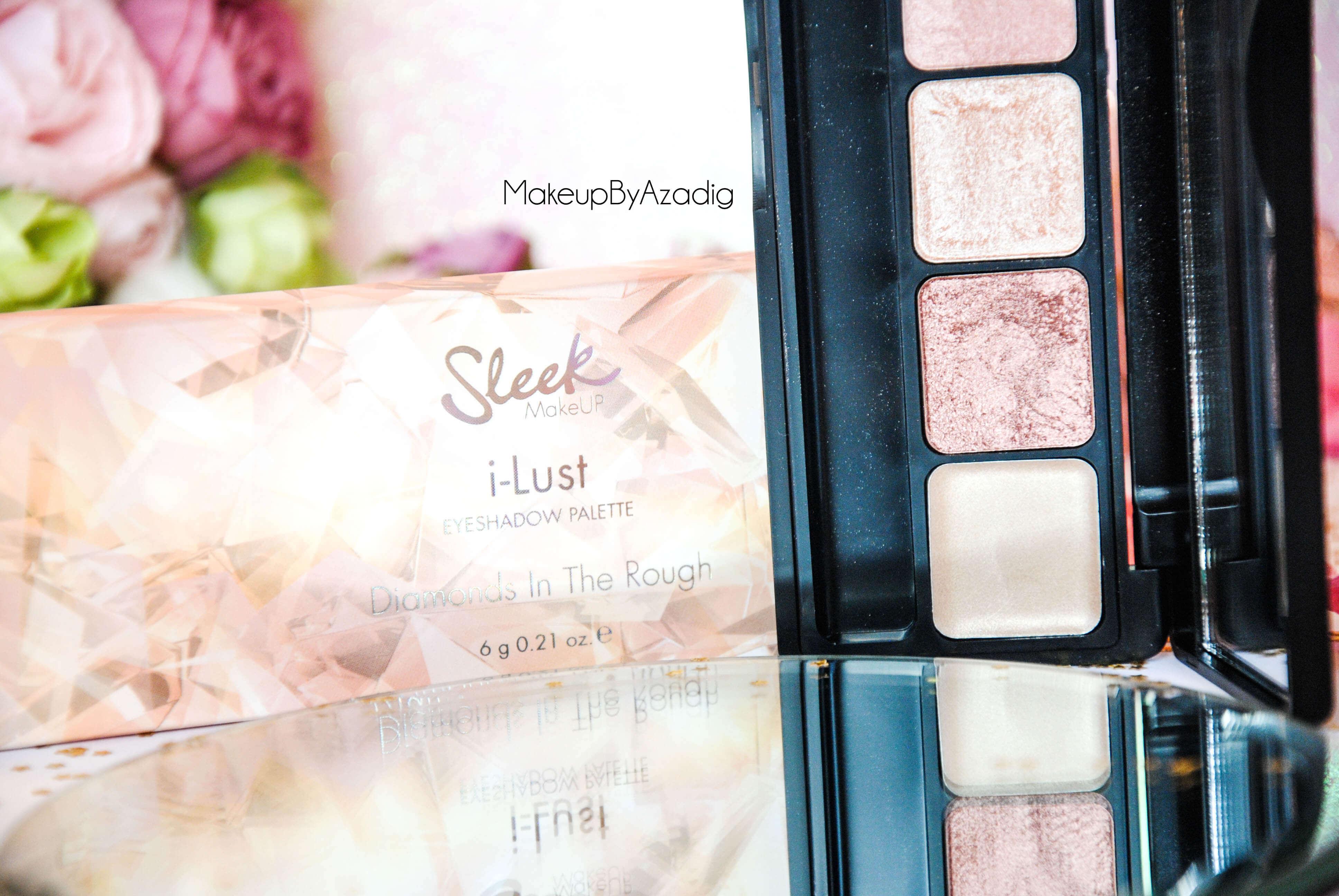 palette-eyeshadow-sleek-makeup-diamonds-in-the-rough-ilust-sephora-paris-makeupbyazadig-noel-code-promo-avis-prix-cute