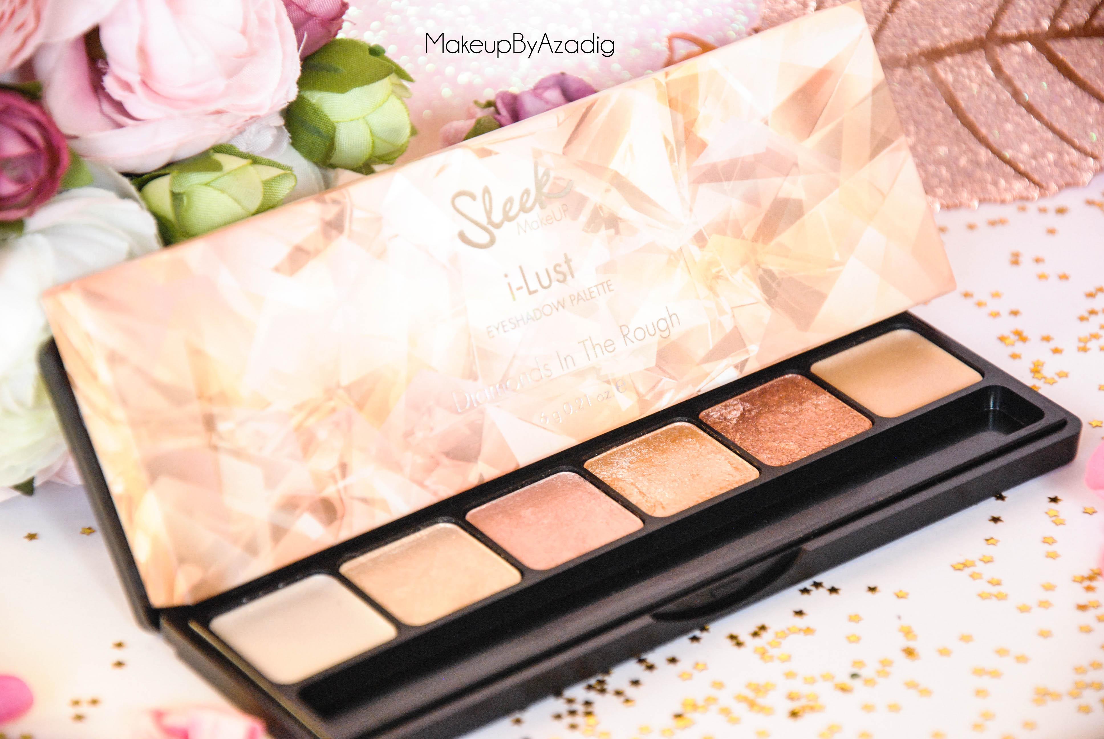 palette-eyeshadow-sleek-makeup-diamonds-in-the-rough-ilust-sephora-paris-makeupbyazadig-noel-code-promo-avis-prix-miniature