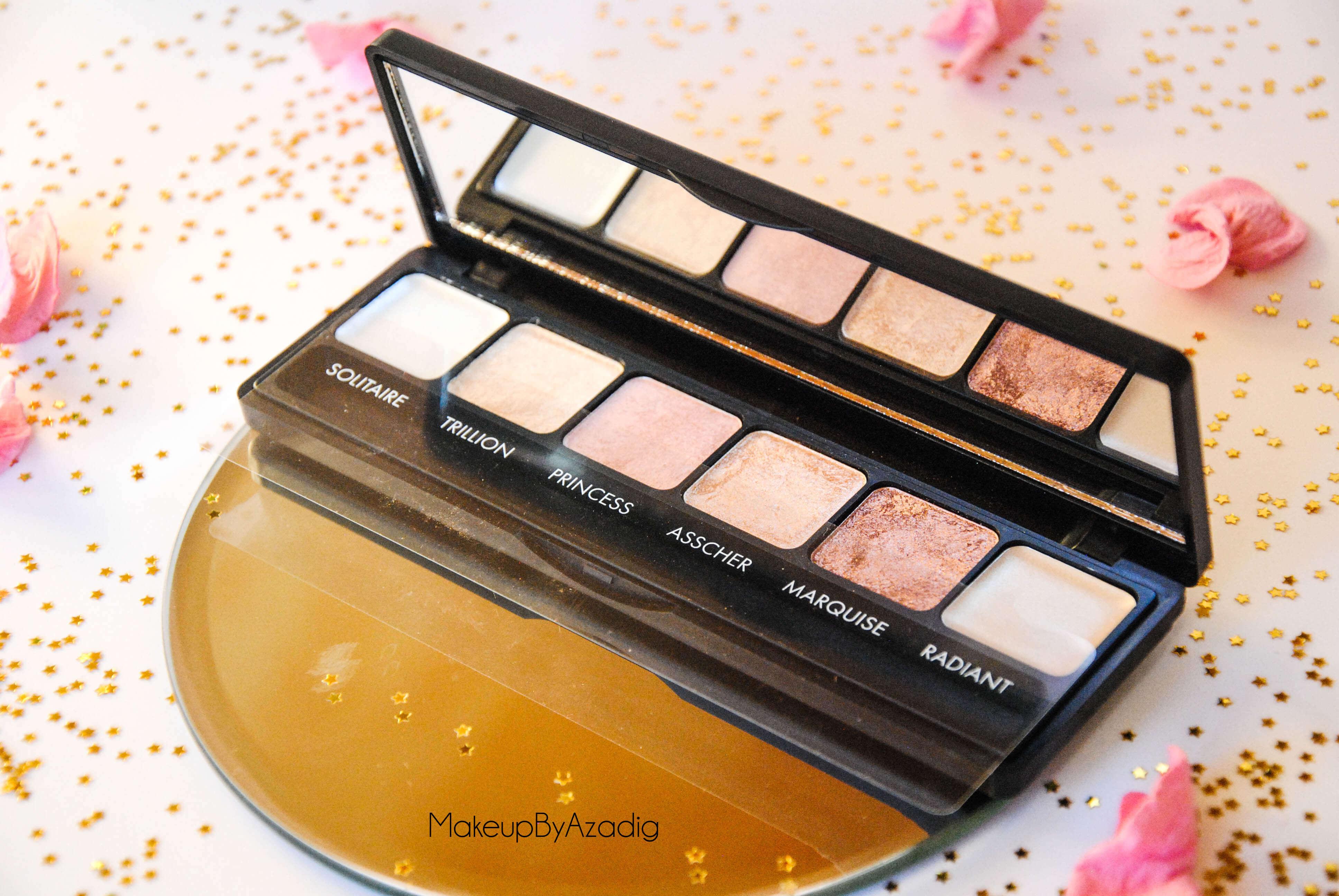palette-eyeshadow-sleek-makeup-diamonds-in-the-rough-ilust-sephora-paris-makeupbyazadig-noel-code-promo-avis-prix-noms