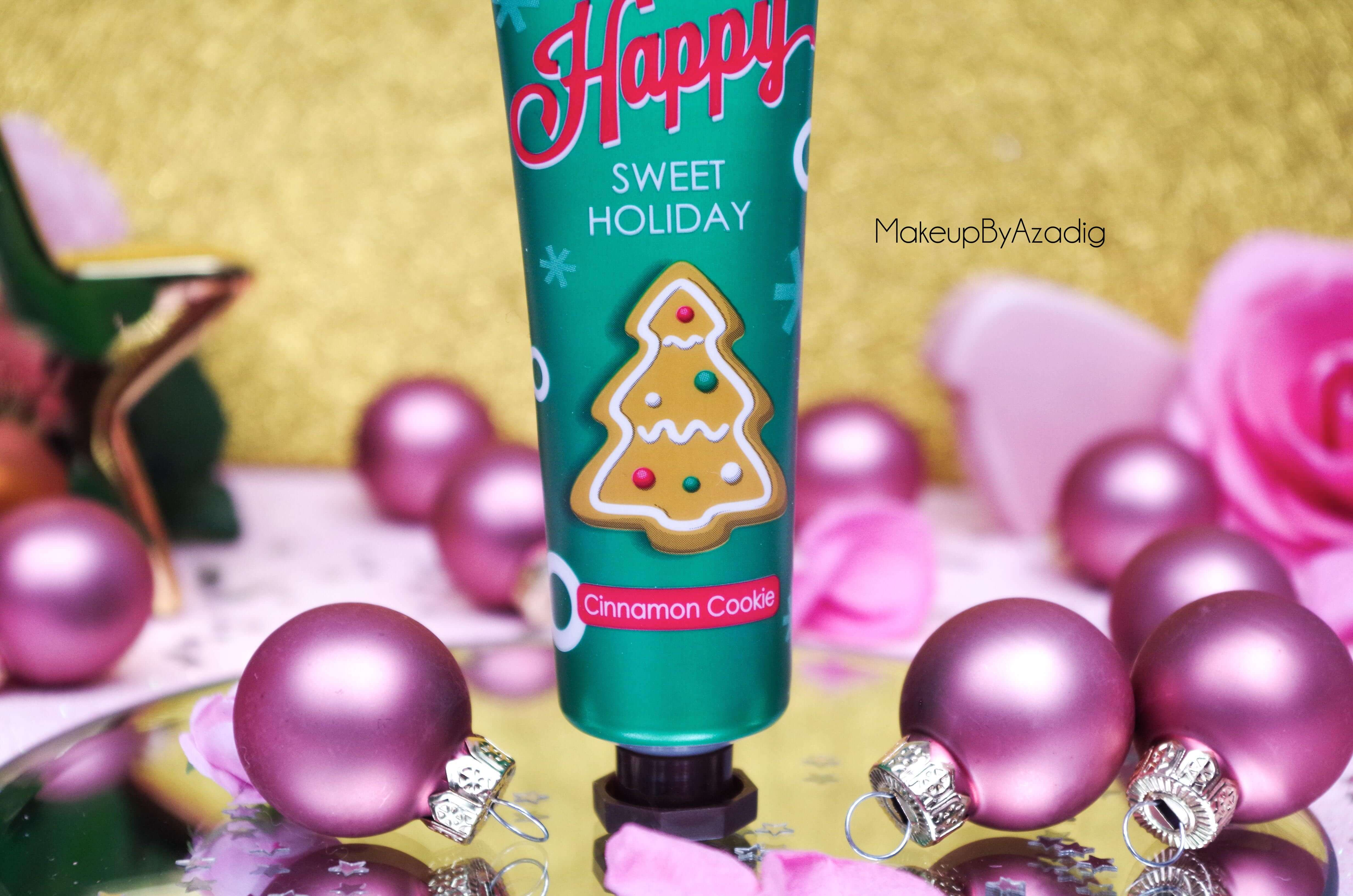 makeupbyazadig-tonymoly-sephora-paris-troyes-creme-mains-collection-noel-holiday-avis-revue-cookie