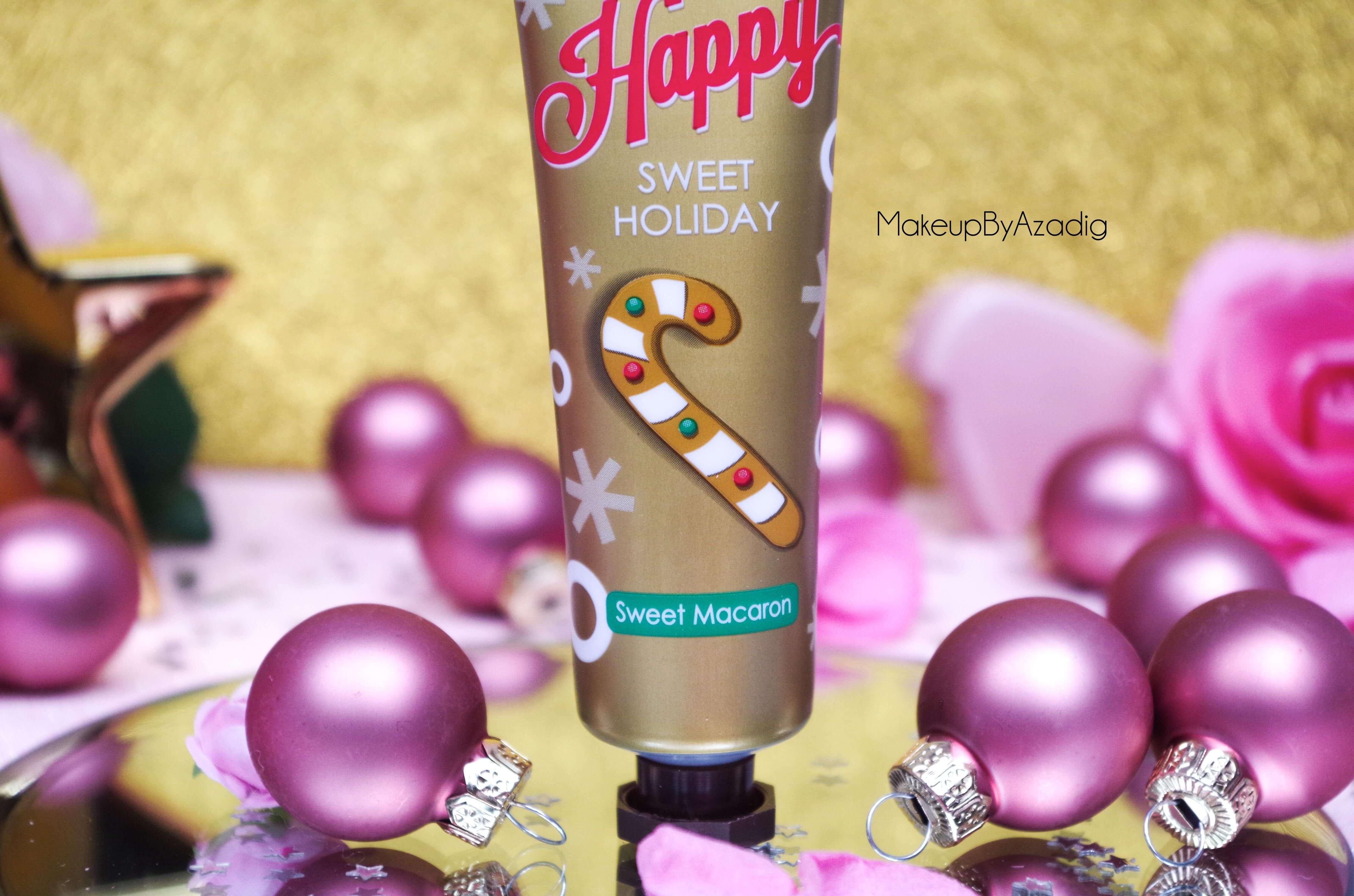 makeupbyazadig-tonymoly-sephora-paris-troyes-creme-mains-collection-noel-holiday-avis-revue-macaron