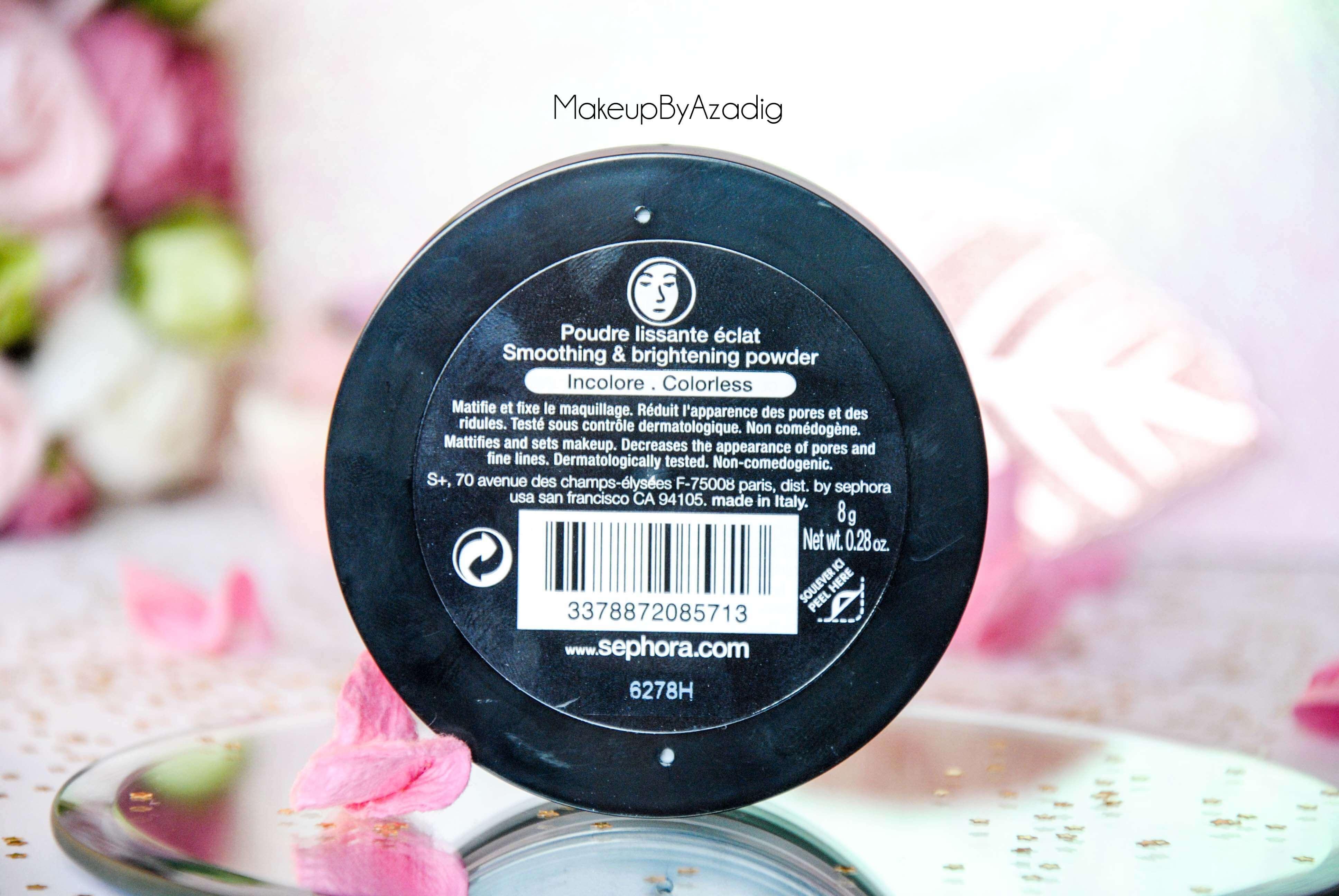 poudre-matifiante-beauty-amplifier-sephora-paris-makeupbyazadig-troyes-revue-avis-prix-incolore