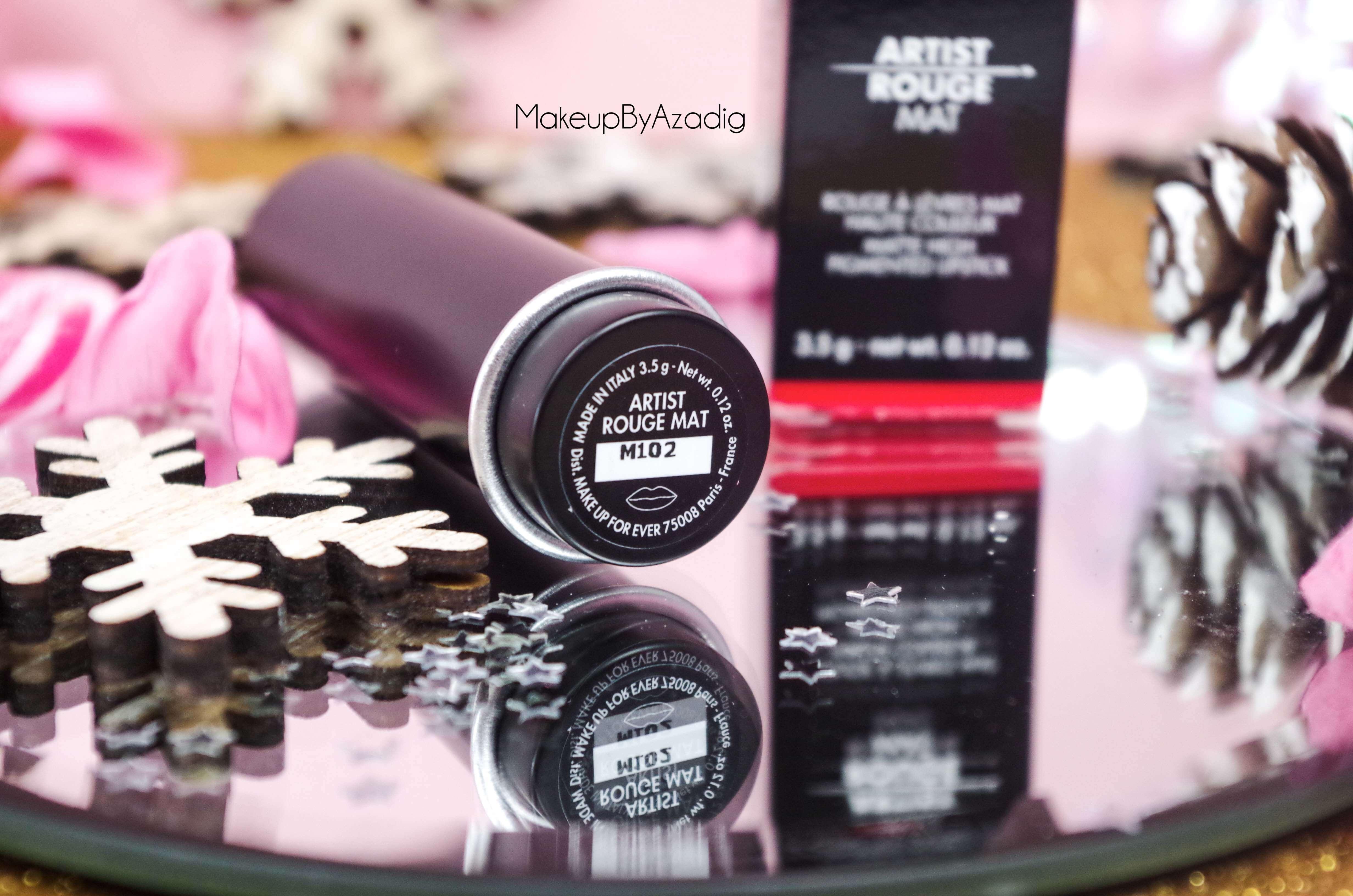 revue-artist-rouge-makeup-for-ever-rouge-levres-mat-sephora-prix-avis-review-m102-makeupbyazadig-italy