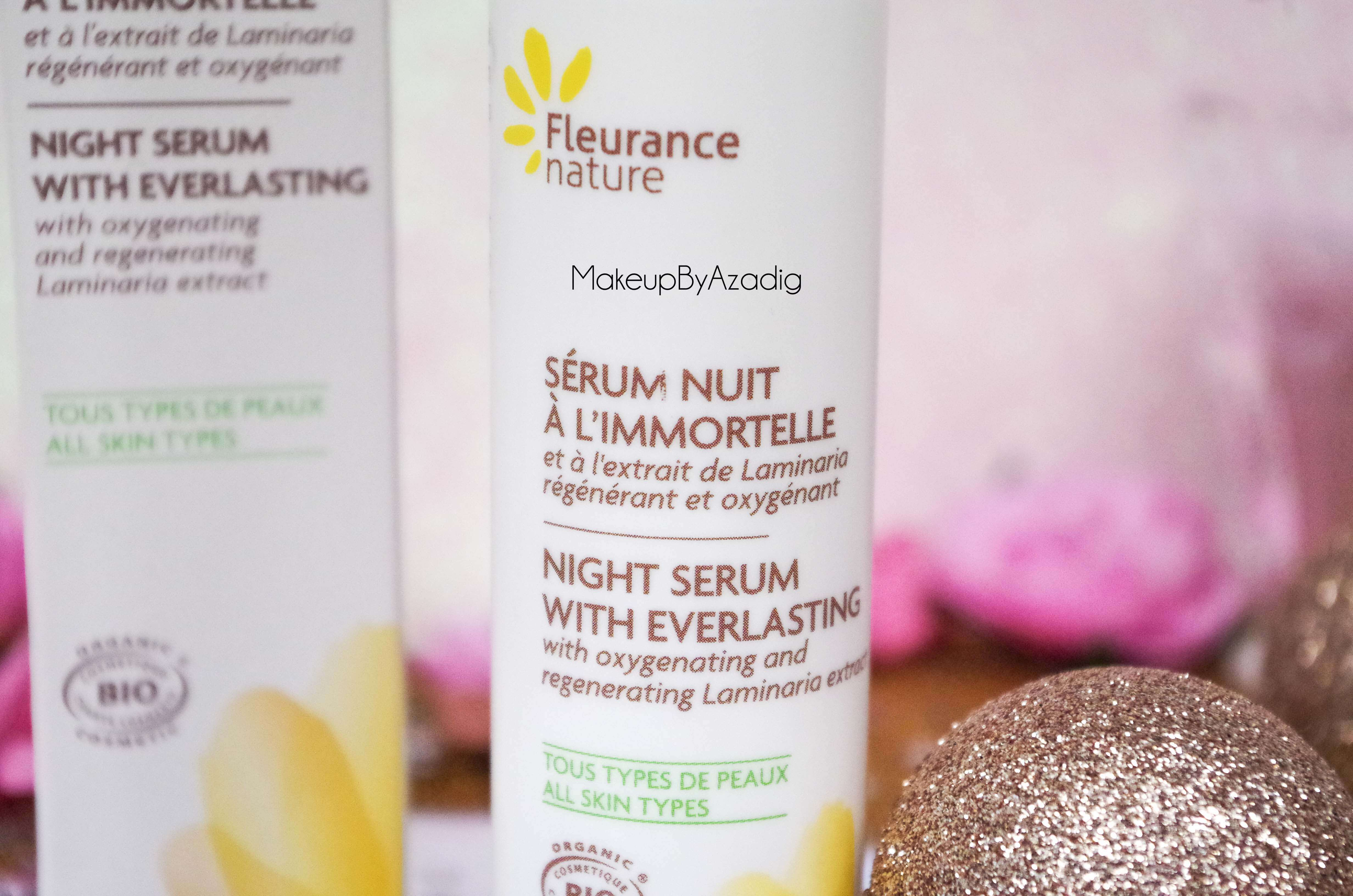 creme-nutrition-intense-serum-nuit-fleur-immortelle-fleurance-nature-makeupbyazadig-revue-prix-avis-laminaria