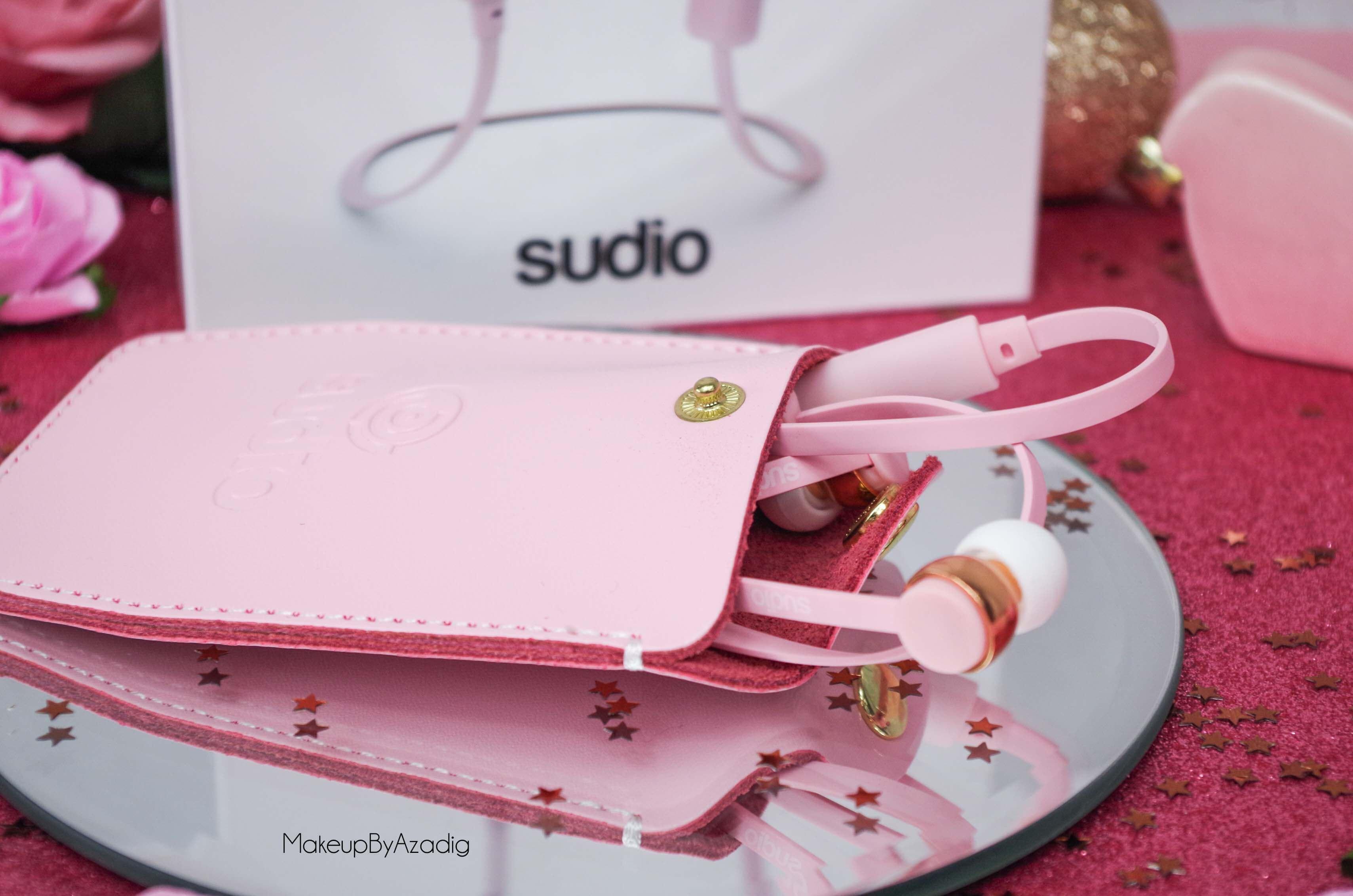 ecouteurs-casque-sans-fil-bluetooth-design-tendance-sudio-sweden-rose-vasa-bla-makeupbyazadig-avis-prix-cuir