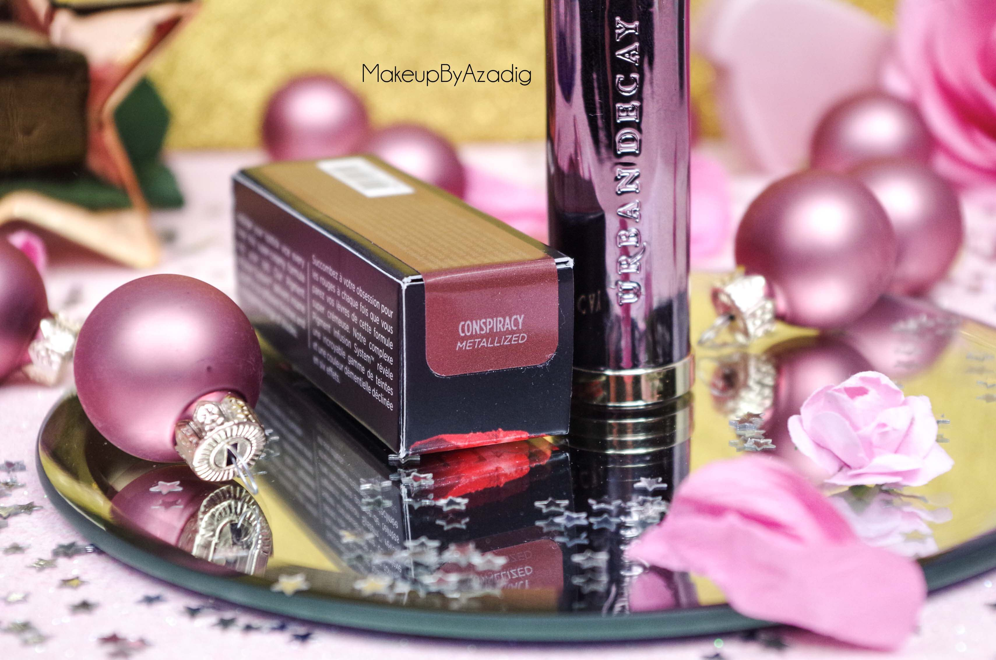 vice_lipstick_urban_decay_sephora_conspiracy_rouge_levre_fini_metallise_metallized_swatch_avis_prix_makeupbyazadig_revue-packaging