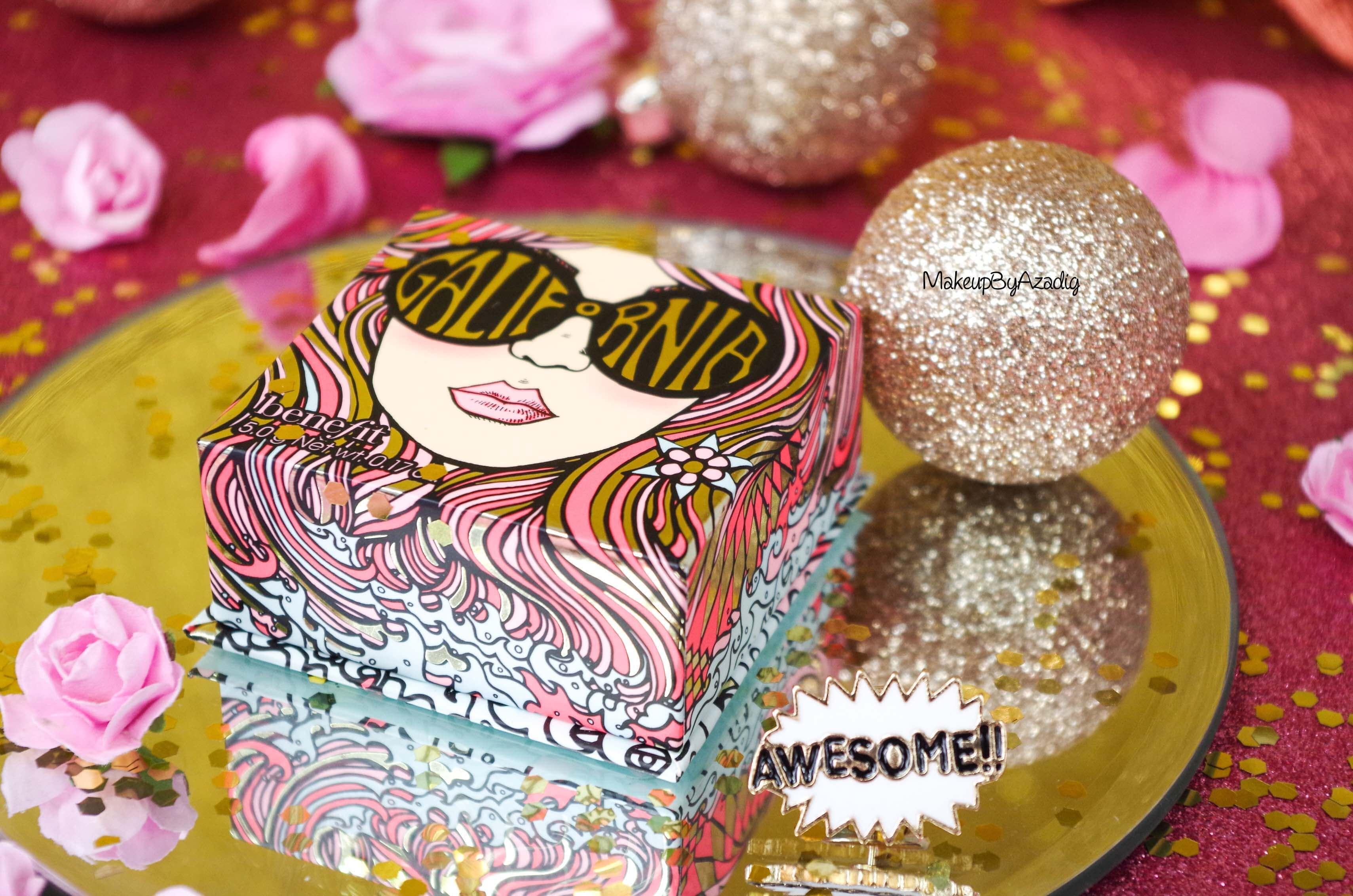 awesome-revue-review-blush-benefit-galifornia-san-francisco-sunny-golden-pink-blush-avis-prix-sephora-makeupbyazadig-coachella