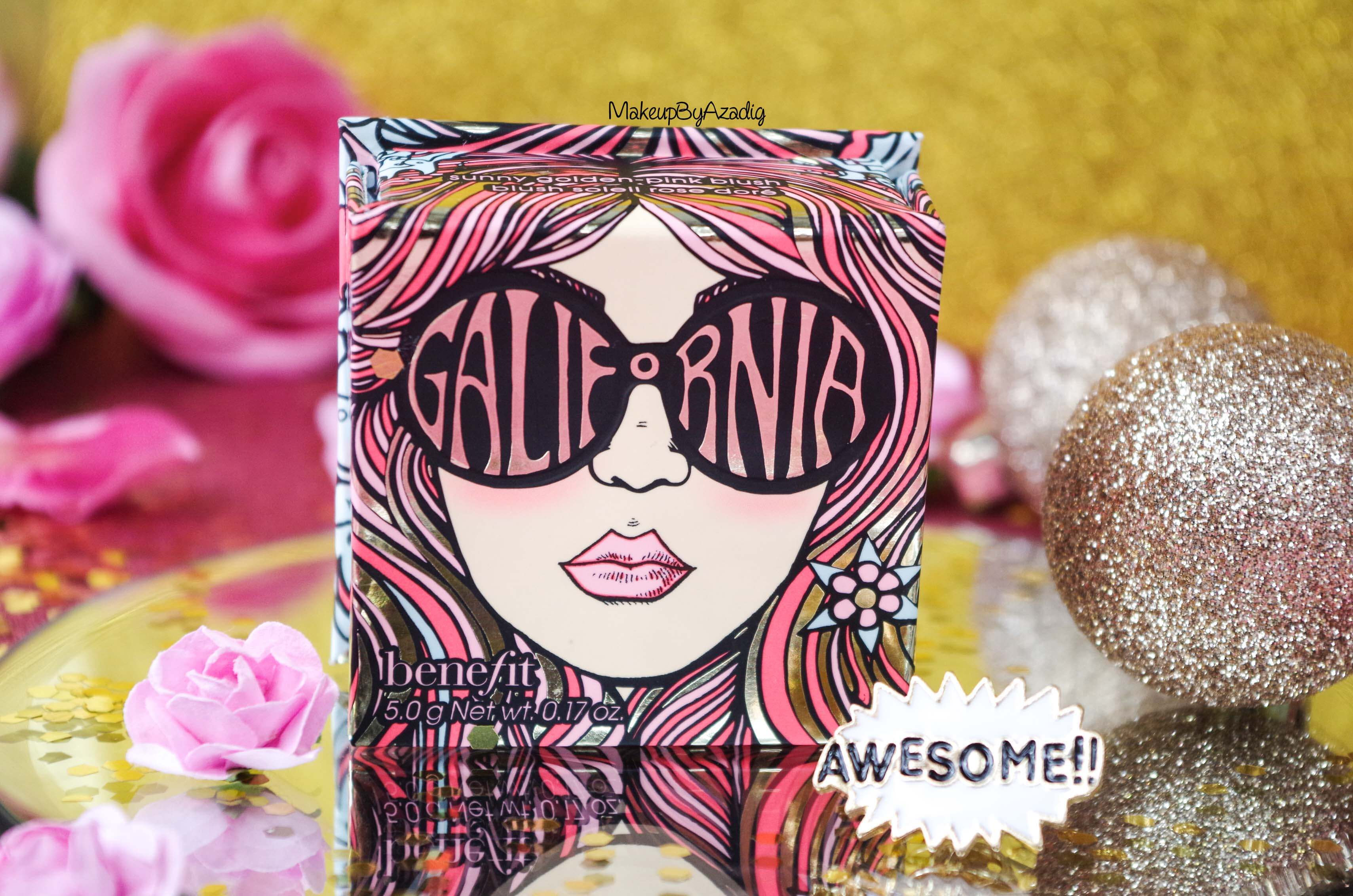 miniature-revue-review-blush-benefit-galifornia-san-francisco-sunny-golden-pink-blush-avis-prix-sephora-makeupbyazadig-coachella