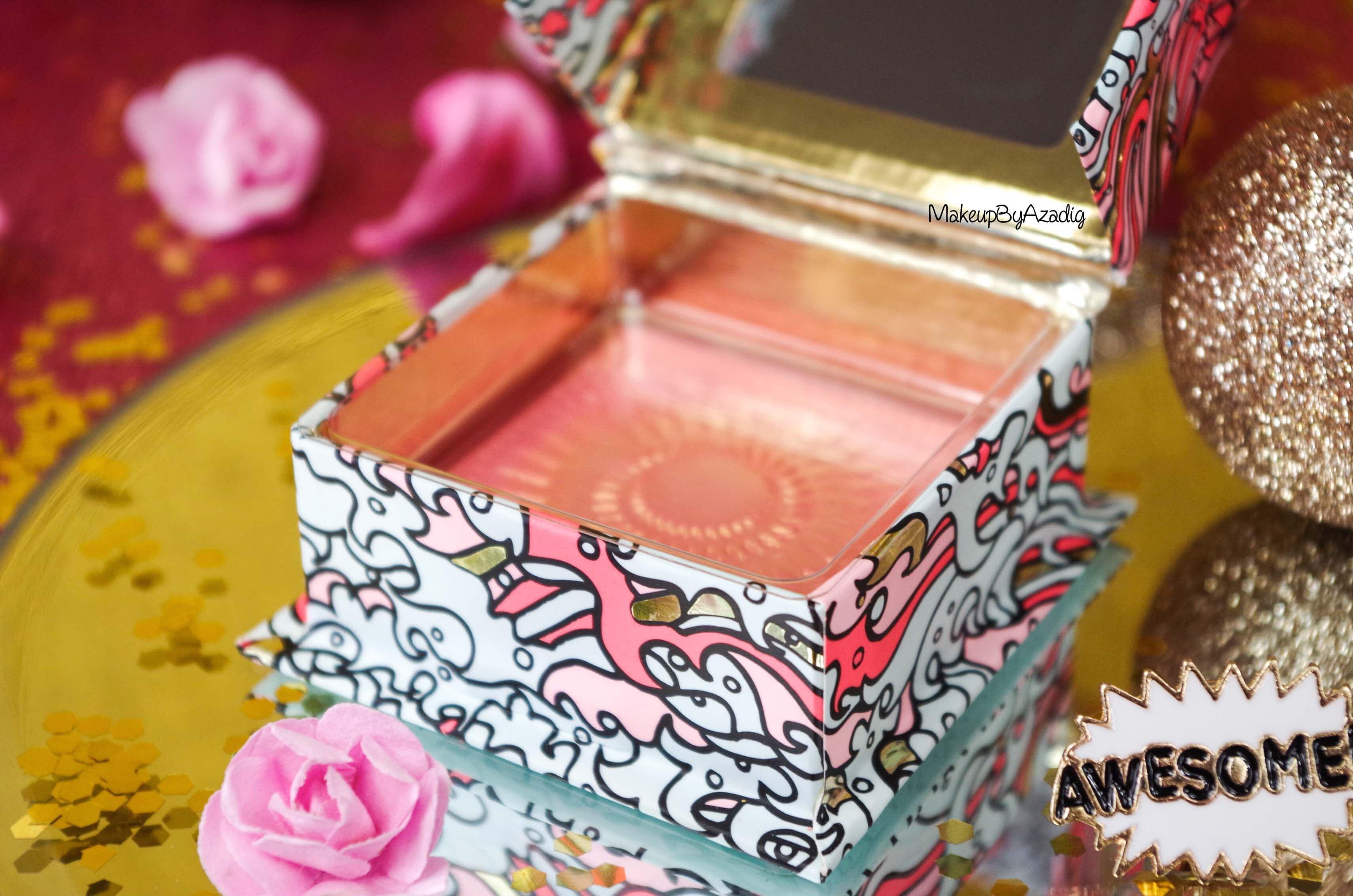 packaging-revue-review-blush-benefit-galifornia-san-francisco-sunny-golden-pink-blush-avis-prix-sephora-makeupbyazadig-coachella