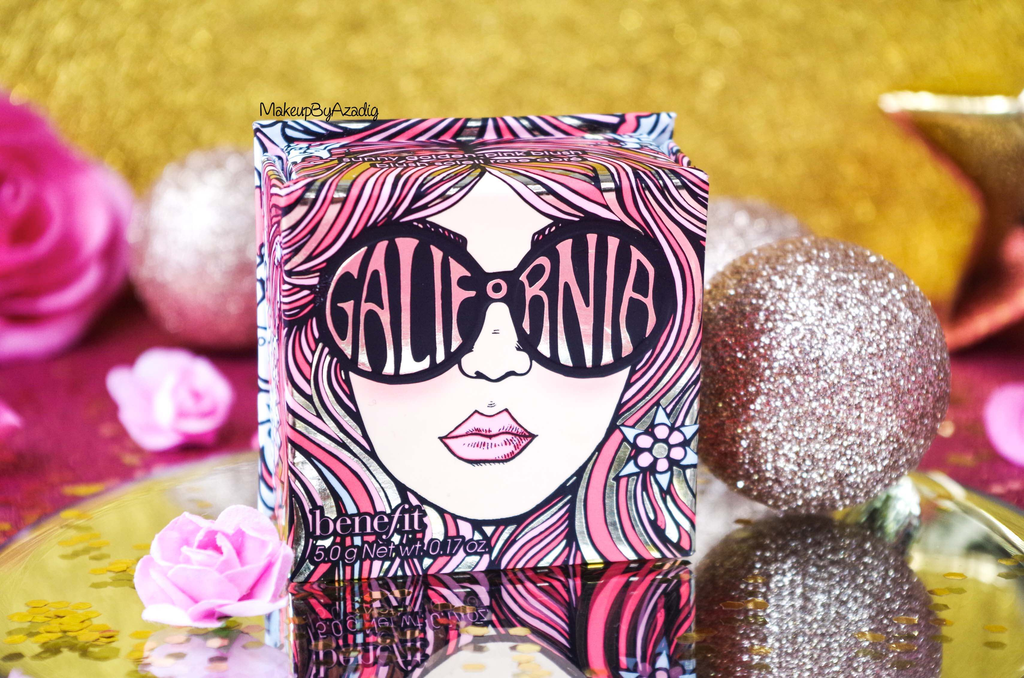 revue-review-blush-benefit-galifornia-san-francisco-sunny-golden-pink-blush-avis-prix-sephora-makeupbyazadig-coachella