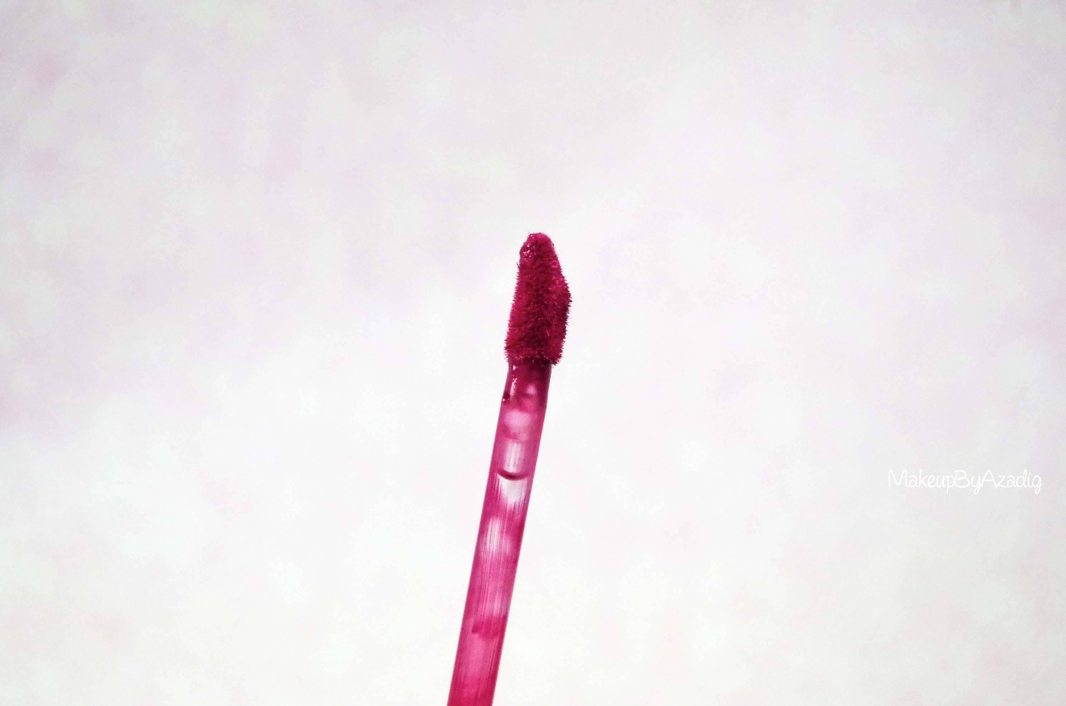 makeupbyazadig-melted-matte-queenb-bendandsnap-influencer-too-faced-rouge-levres-revue-avis-prix-sephora-paris-blog-liquide-embout