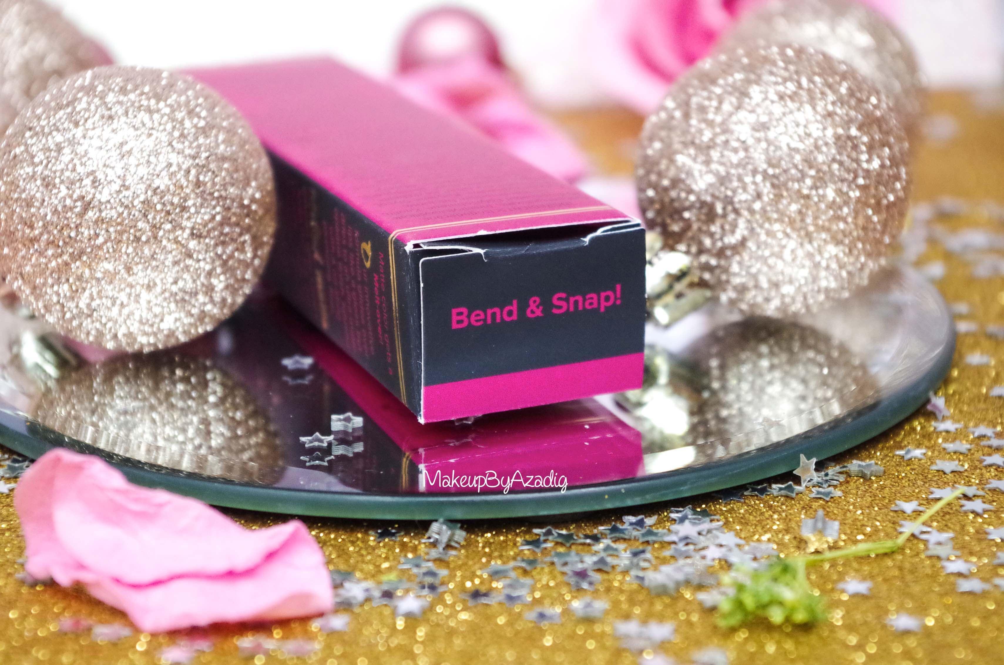 makeupbyazadig-melted-matte-queenb-bendandsnap-influencer-too-faced-rouge-levres-revue-avis-prix-sephora-paris-blog-liquide-framboise