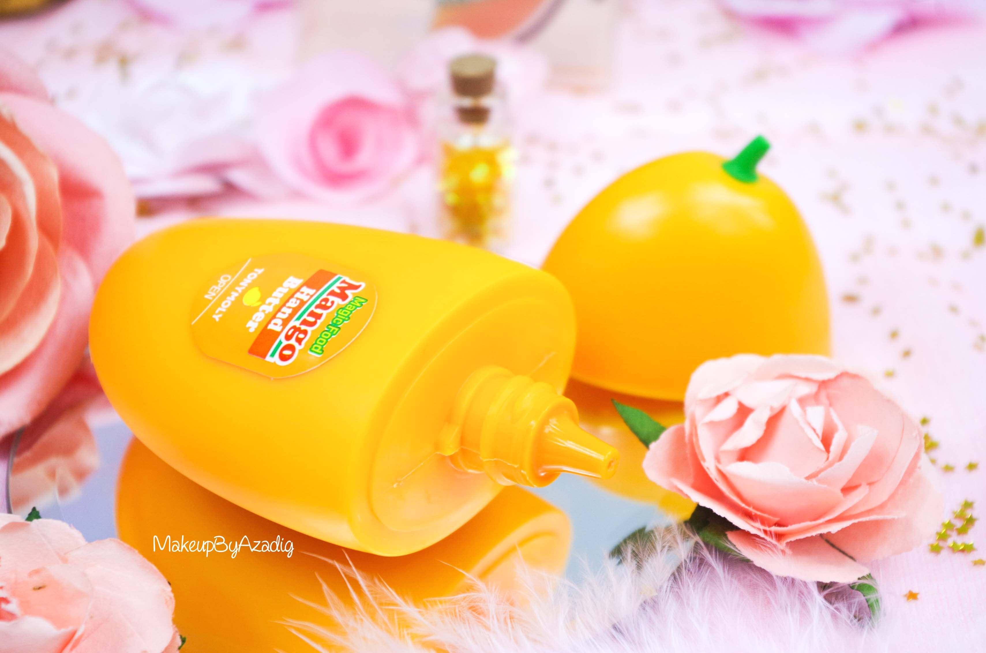 creme-mains-mango-hand-butter-tonymoly-sephora-france-cocooning-revue-avis-prix-makeupbyazadig-influencer-fruit