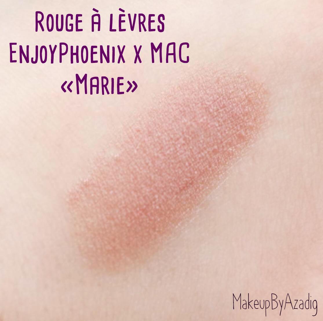 swatch-macxmarie-mac-cosmetics-rouge-a-levres-enjoy-phoenix-collaboration-makeupbyazadig-revue-avis-prix-meetup