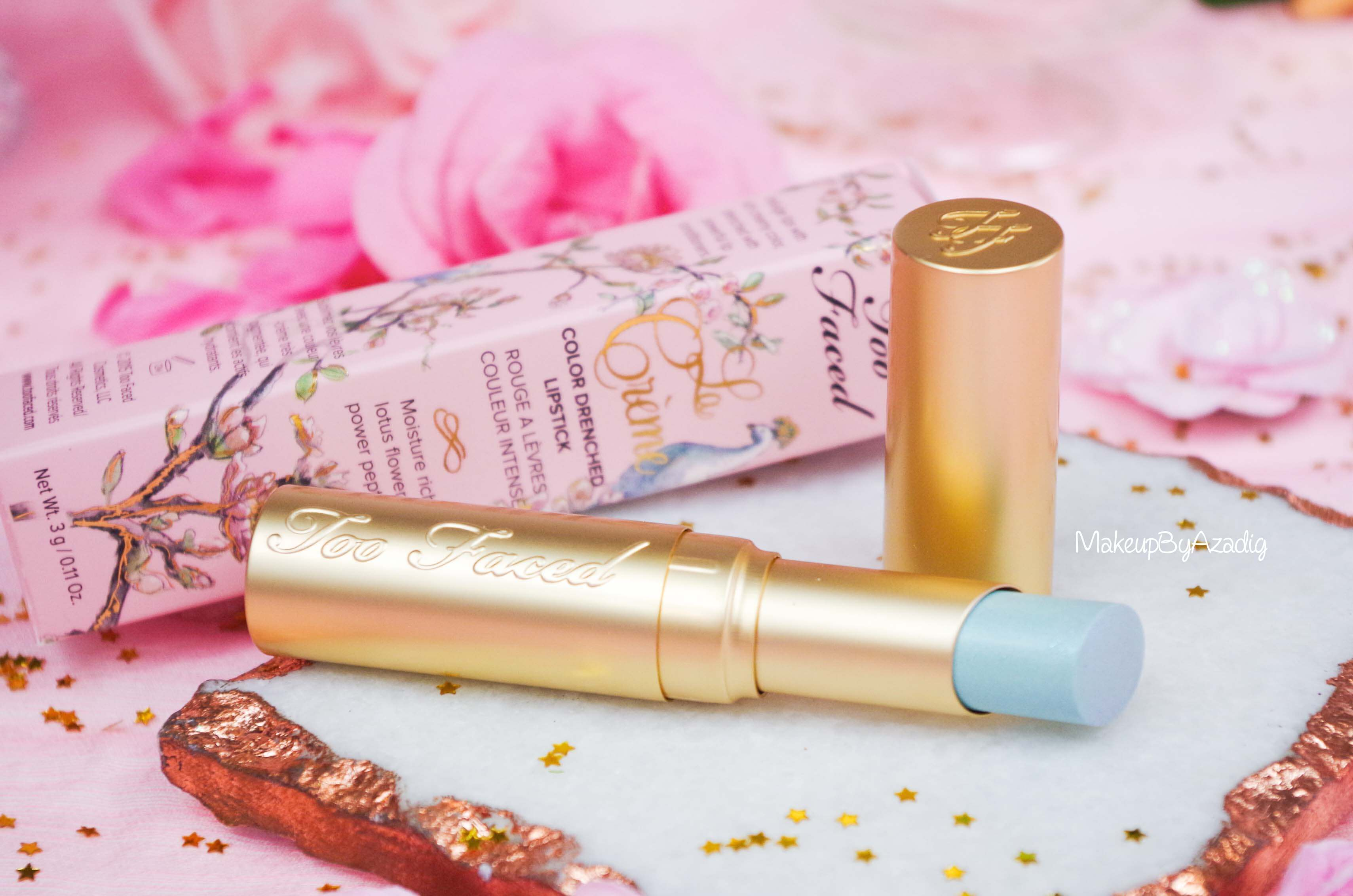 rouge-levres-creme-too-faced-unicorn-tears-magique-makeupbyazadig-swatch-avis-prix-revue-sephora-cream