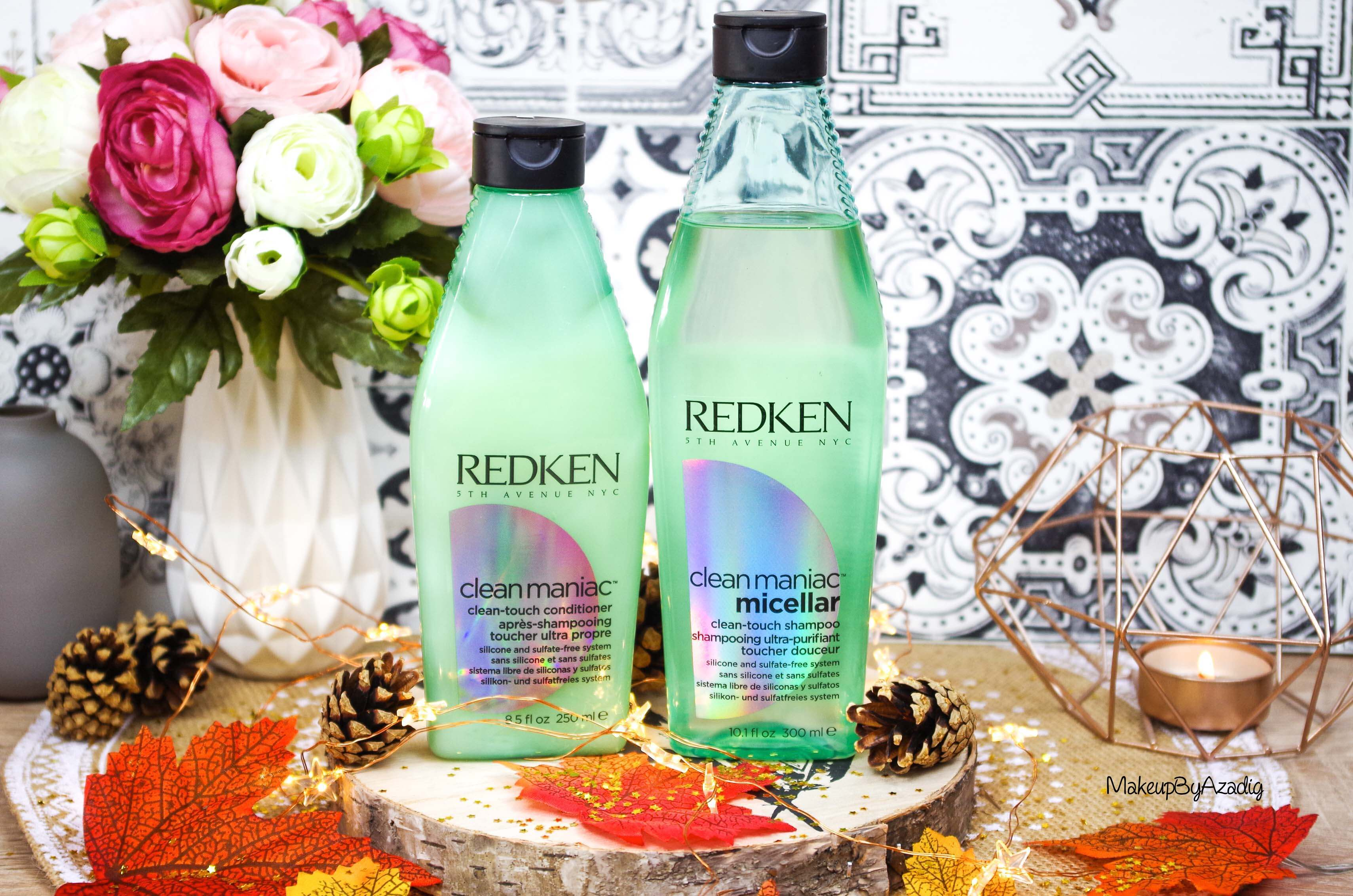 revue-shampooing-conditioner-clean-maniac-redken-programme-detox-anti-pollution-makeupbyazadig-cleanhair-sans-silicone-sulfate-faience