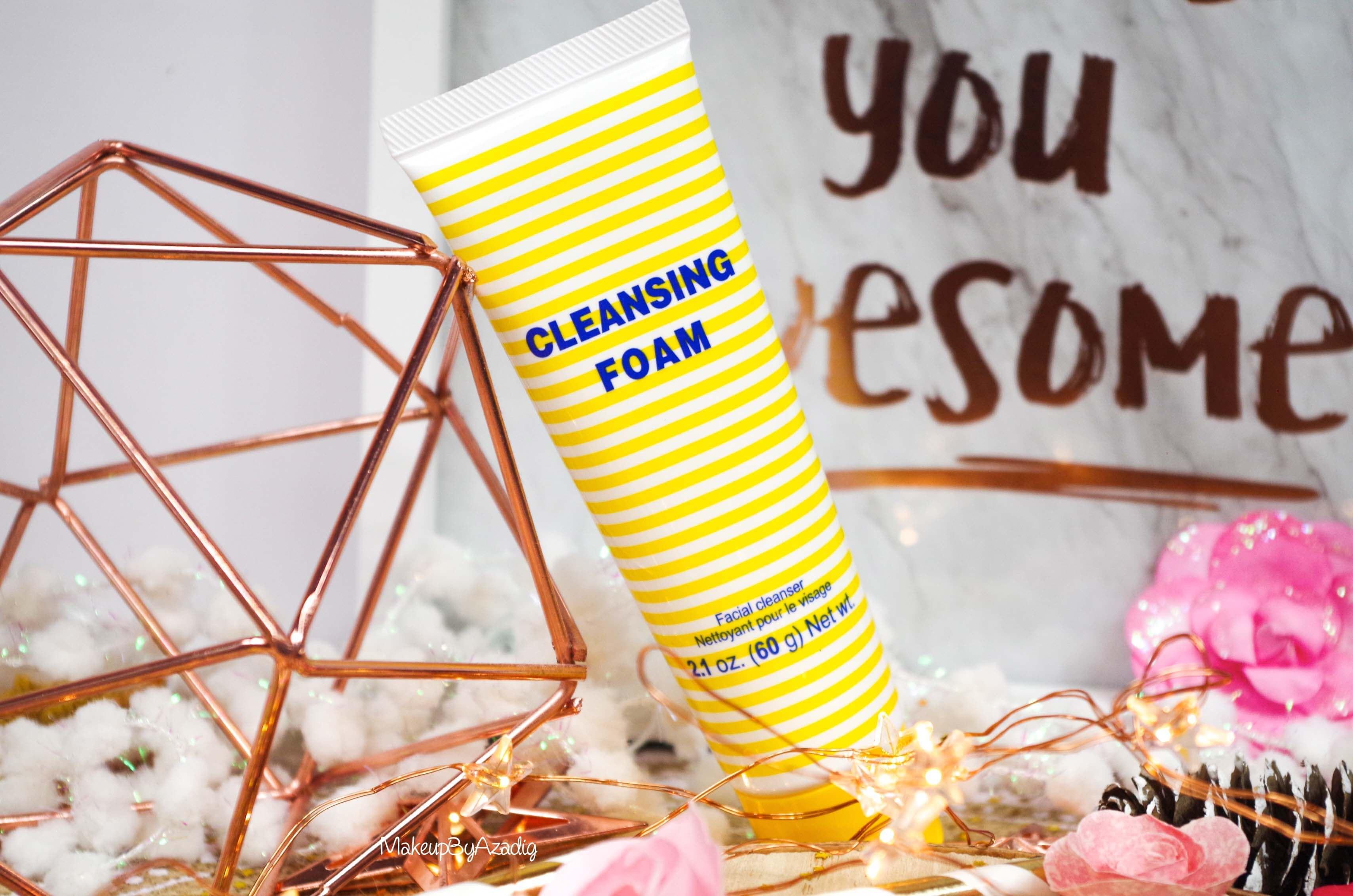 revue-review-cleansing-foam-creme-nettoyante-dhc-monoprix-parapharmacie-prix-avis-makeupbyazadig-awesome