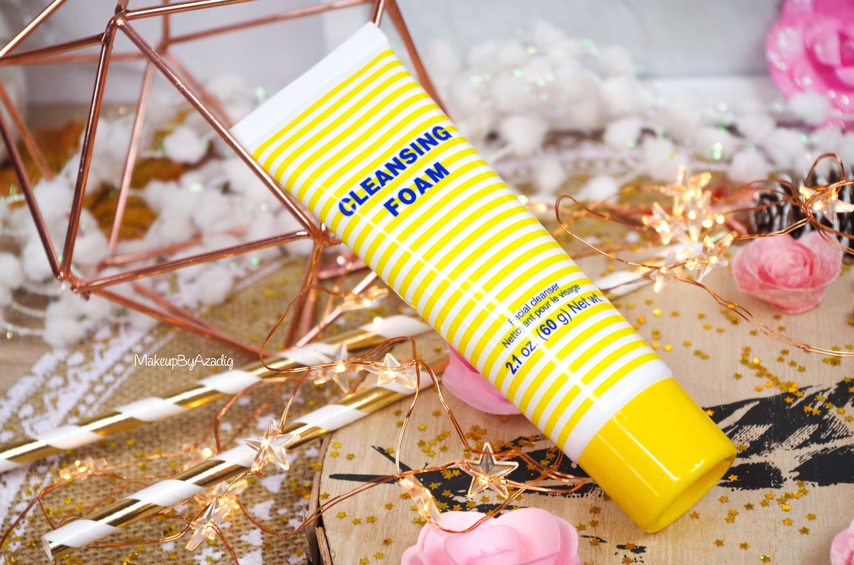 revue-review-cleansing-foam-creme-nettoyante-dhc-monoprix-parapharmacie-prix-avis-makeupbyazadig-best