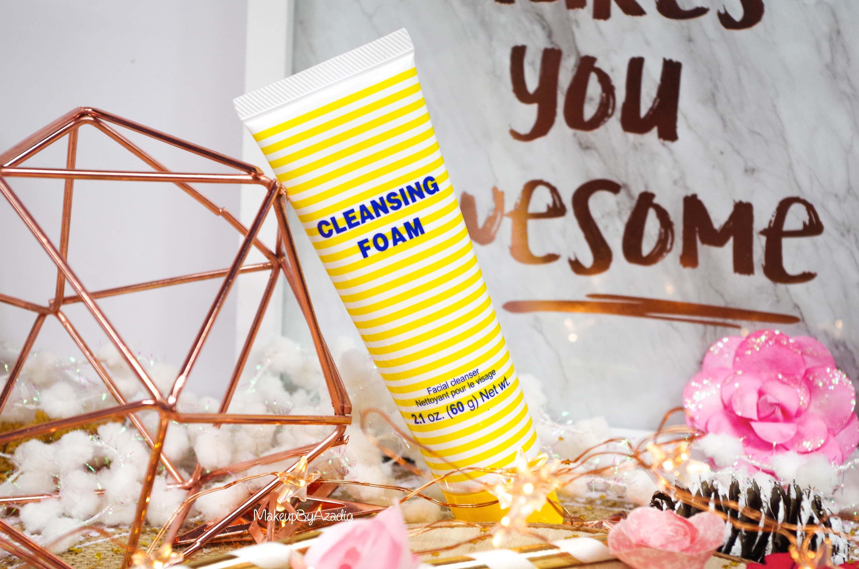 revue-review-cleansing-foam-creme-nettoyante-dhc-monoprix-parapharmacie-prix-avis-makeupbyazadig-olive