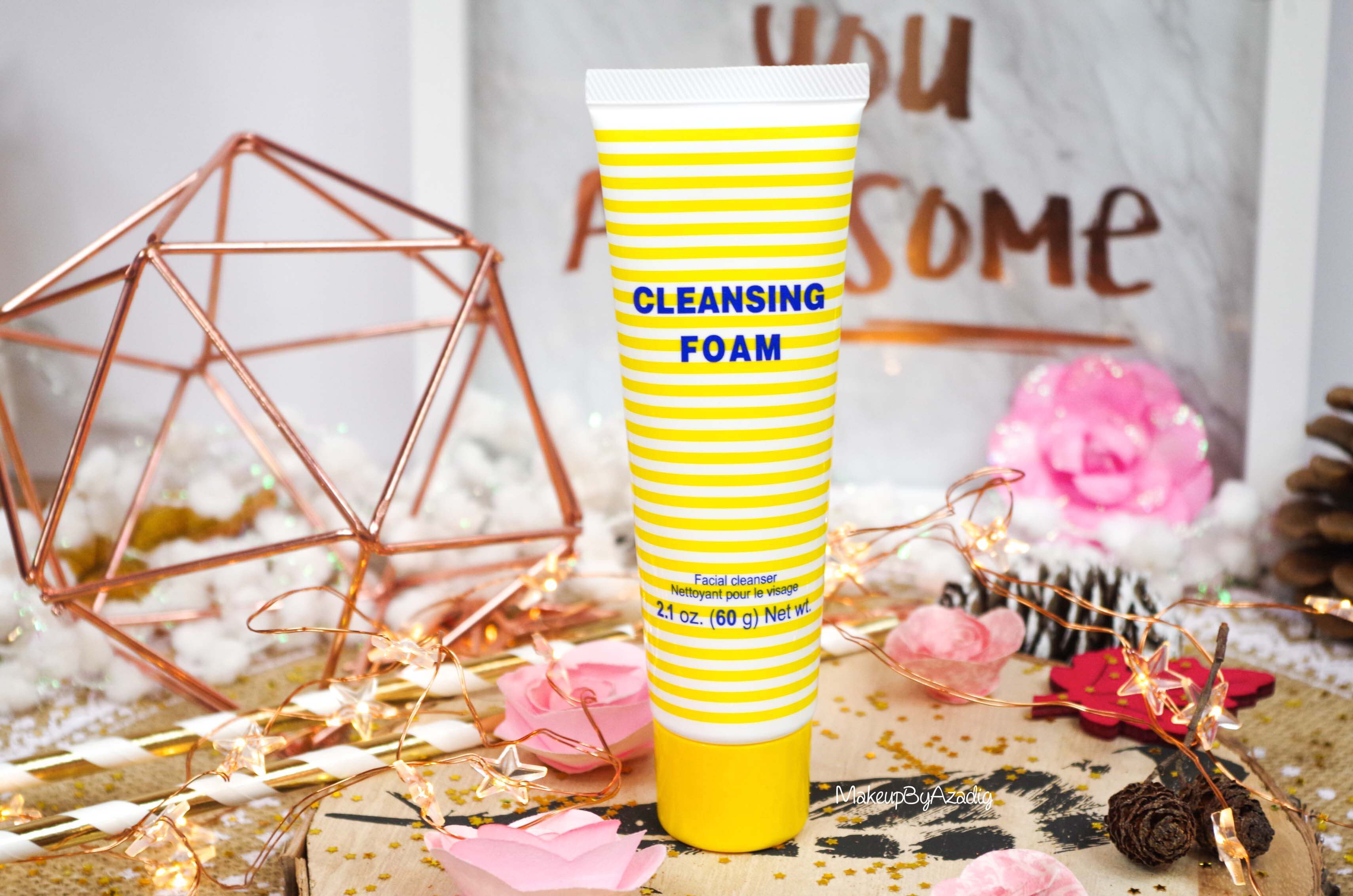 revue-review-cleansing-foam-creme-nettoyante-dhc-monoprix-parapharmacie-prix-avis-makeupbyazadig-tube