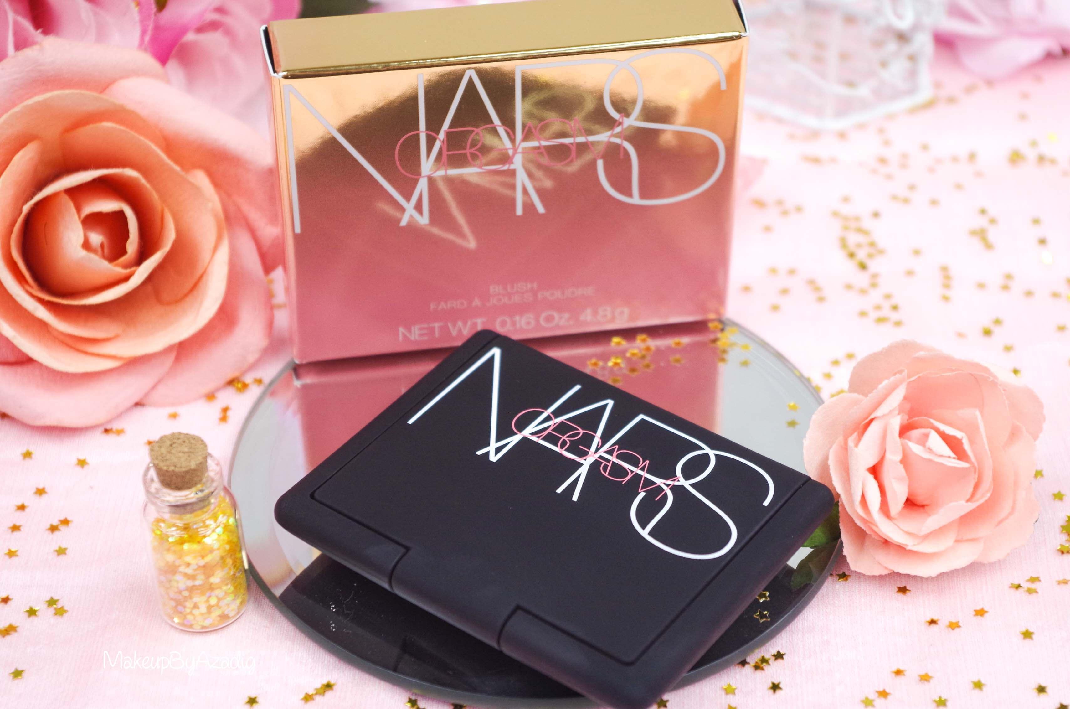 blush-liquide-orgasm-rouge-a-levres-illuminateur-highlighter-rosegold-nars-packaging-makeupbyazadig