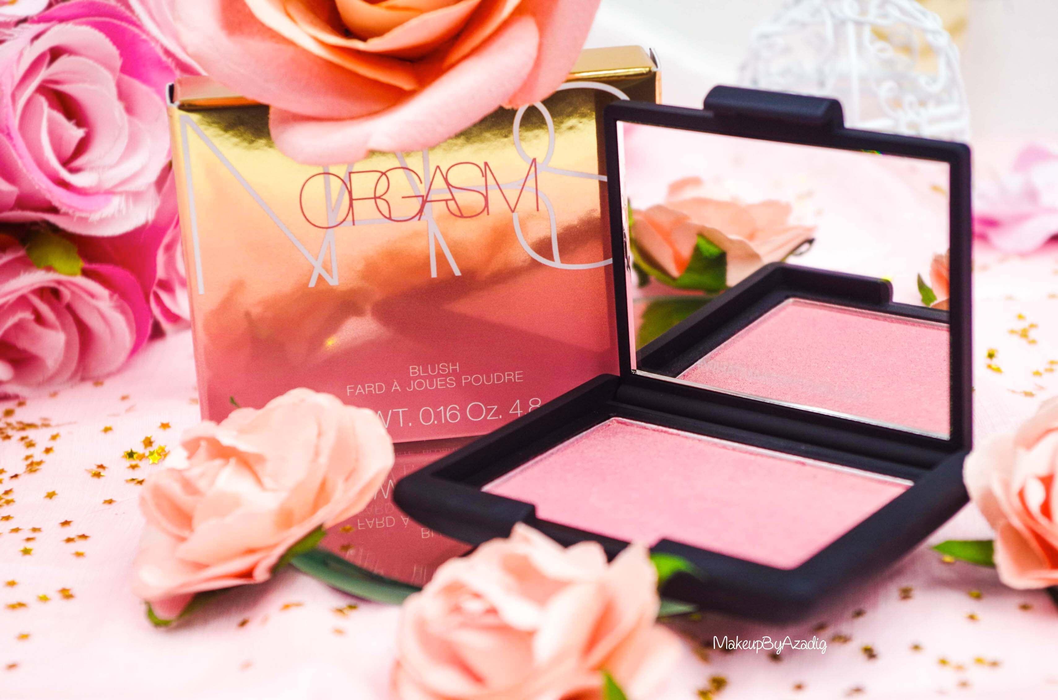 blush-liquide-orgasm-rouge-a-levres-illuminateur-highlighter-rosegold-nars-promo-makeupbyazadig