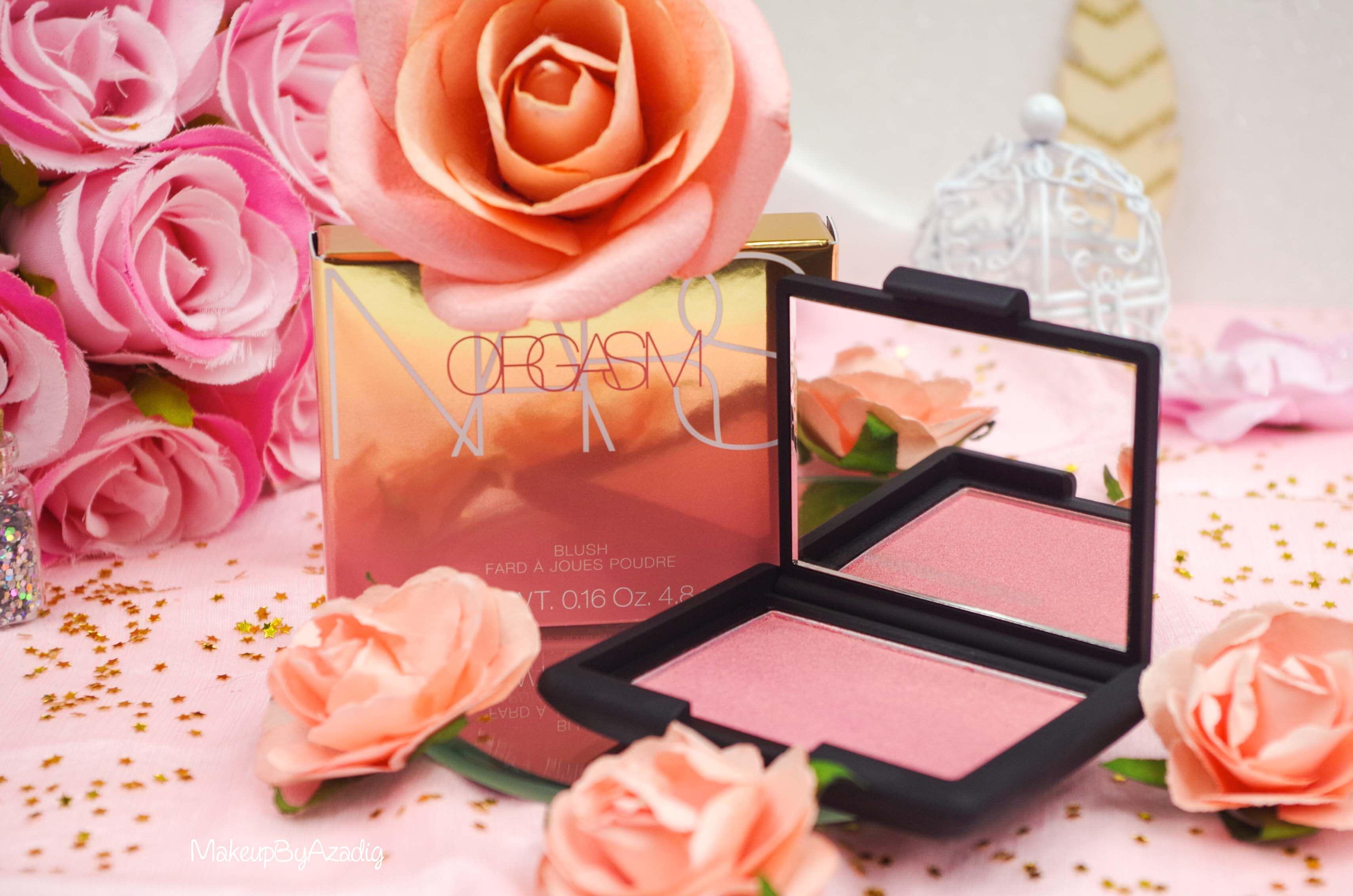 blush-liquide-orgasm-rouge-levres-illuminateur-highlighter-rosegold-nars-sephora-avis-prix-makeupbyazadig