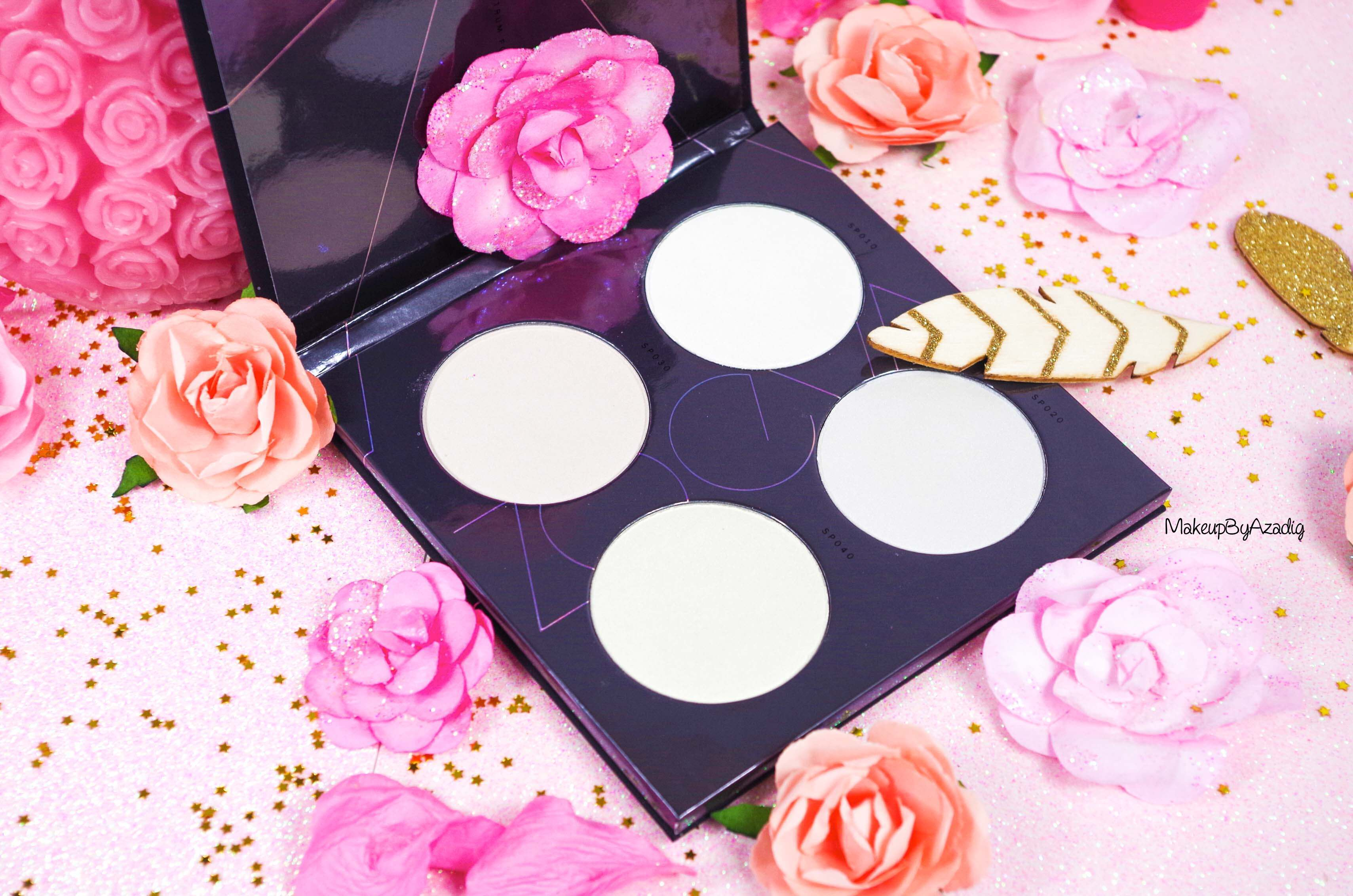palette-highlighter-enlumineur-pas-cher-spring-strobe-spectrum-zoeva-sephora-arcenciel-licorne-makeupbyazadig-revue-avis-prix-pink