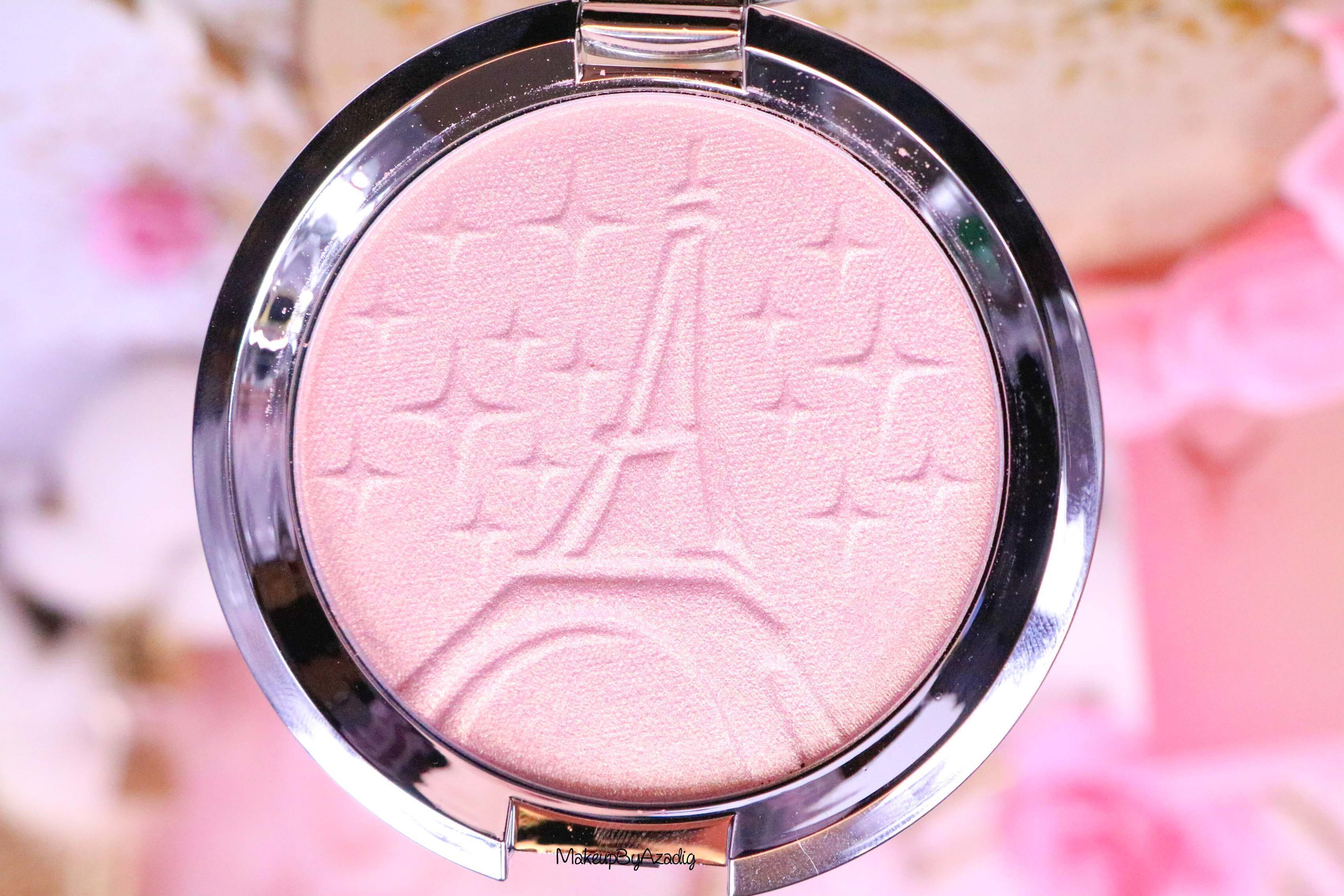 revue-highlighter-becca-sananas-parisian-lights-prix-avis-swatch-beccaxsananas-paris-youtuber-couleur