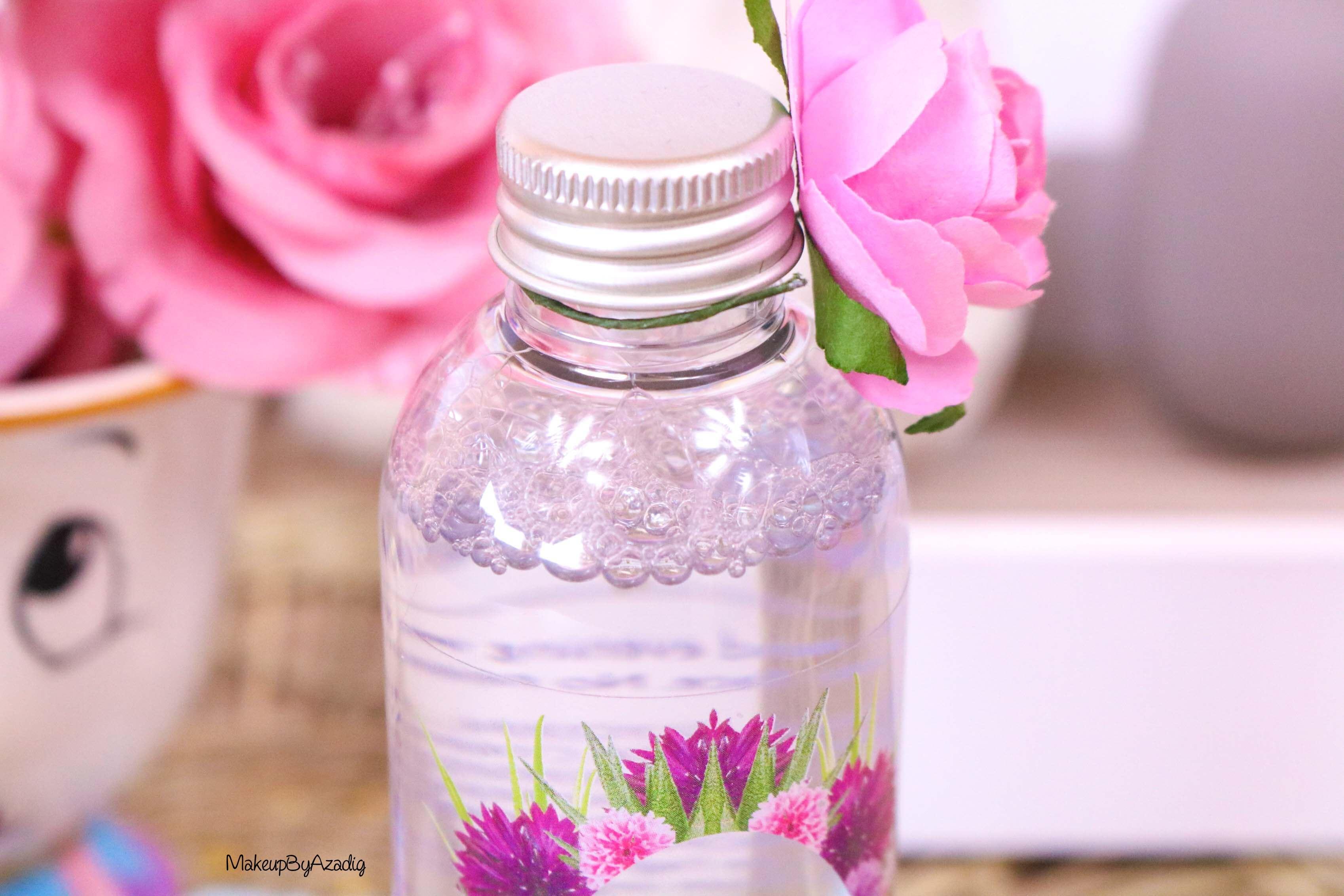 revue-eau-micellaire-peau-sensible-cosmetique-bio-fleurance-nature-makeupbyazadig-florale-bleuet-prix-avis-bouchon