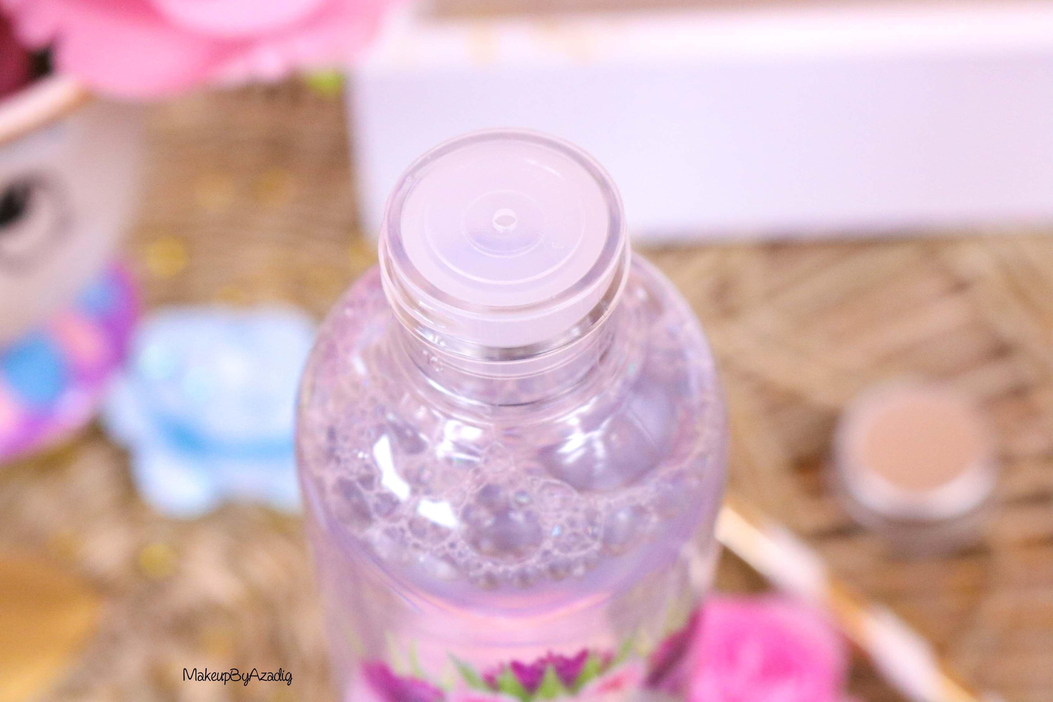 revue-eau-micellaire-peau-sensible-cosmetique-bio-fleurance-nature-makeupbyazadig-florale-bleuet-prix-avis-embout