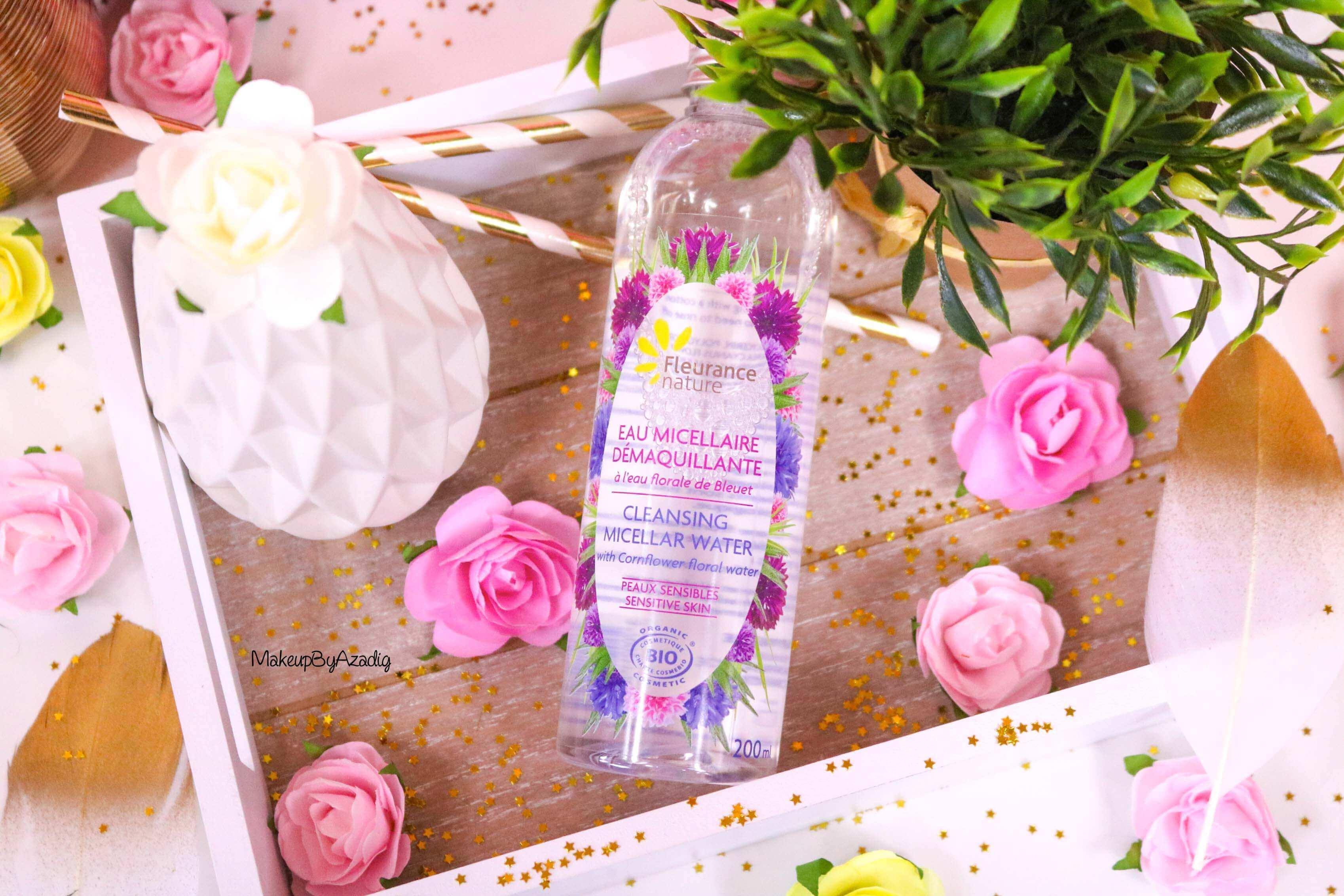 revue-eau-micellaire-peau-sensible-cosmetique-bio-fleurance-nature-makeupbyazadig-florale-bleuet-prix-avis-miniature