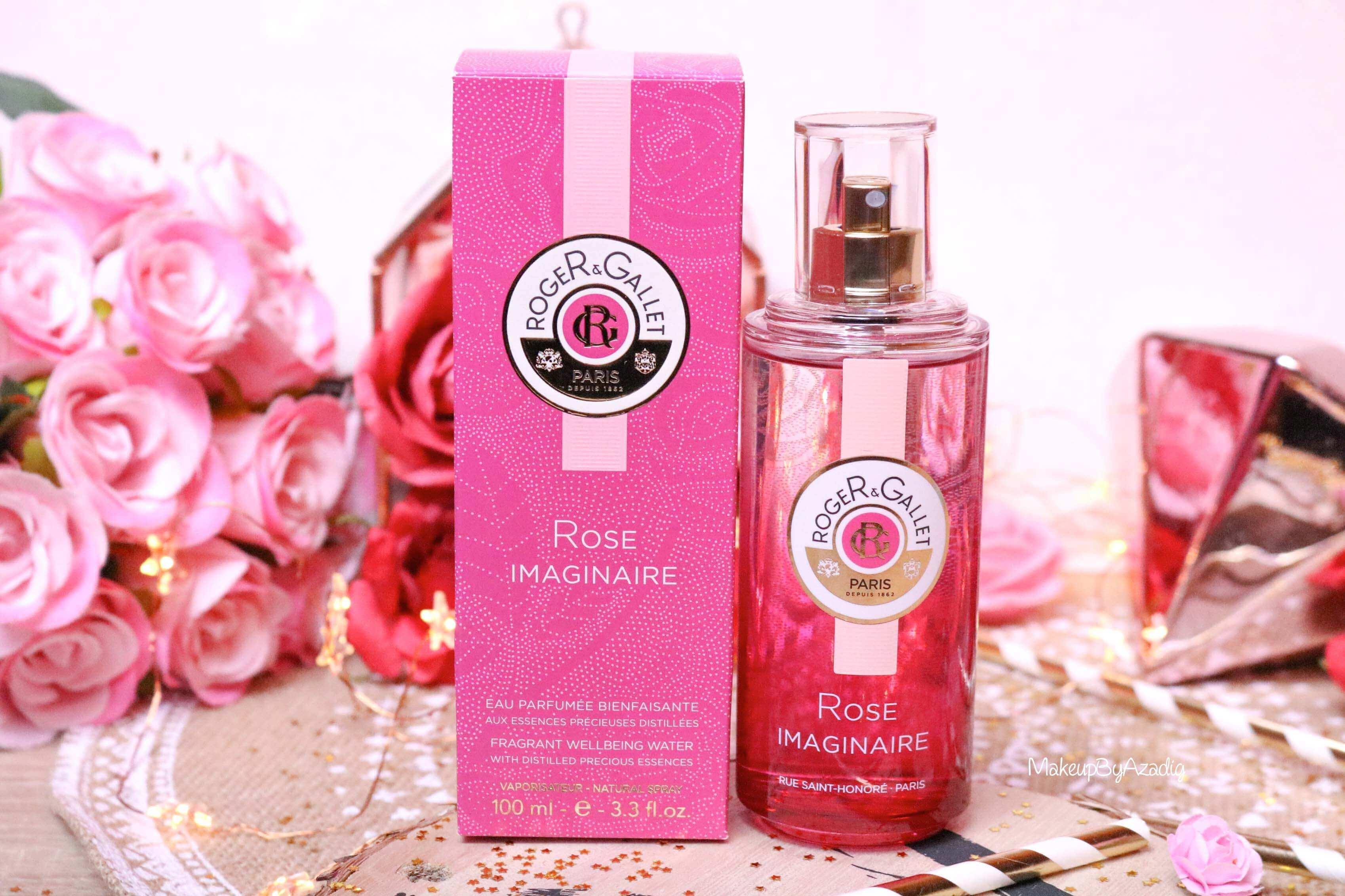 revue-eau-parfumee-bienfaisante-rose-imaginaire-roger-gallet-makeupbyazadig-parfum-bonne-tenue-avis-prix-monoprix-packaging