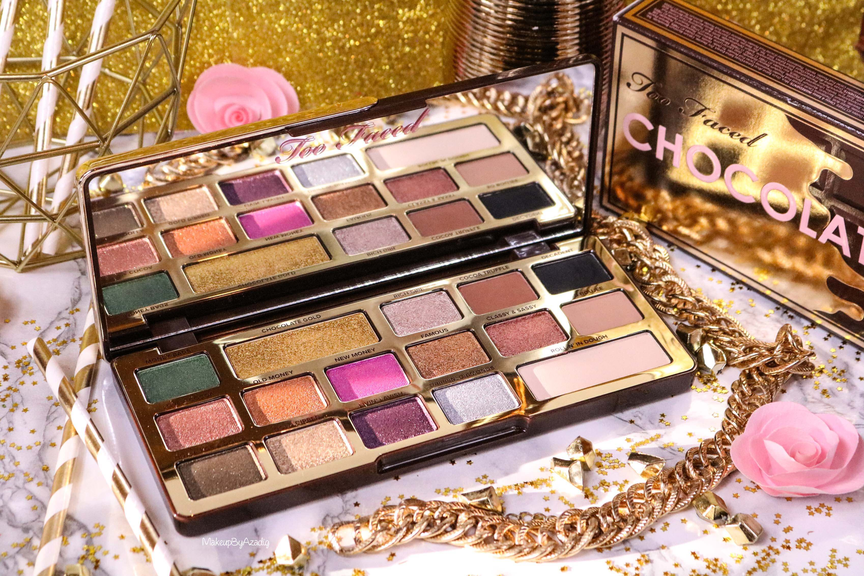 revue-palette-too-faced-chocolate-gold-review-swatch-swatches-avis-prix-makeupbyazadig-influencer-miniature