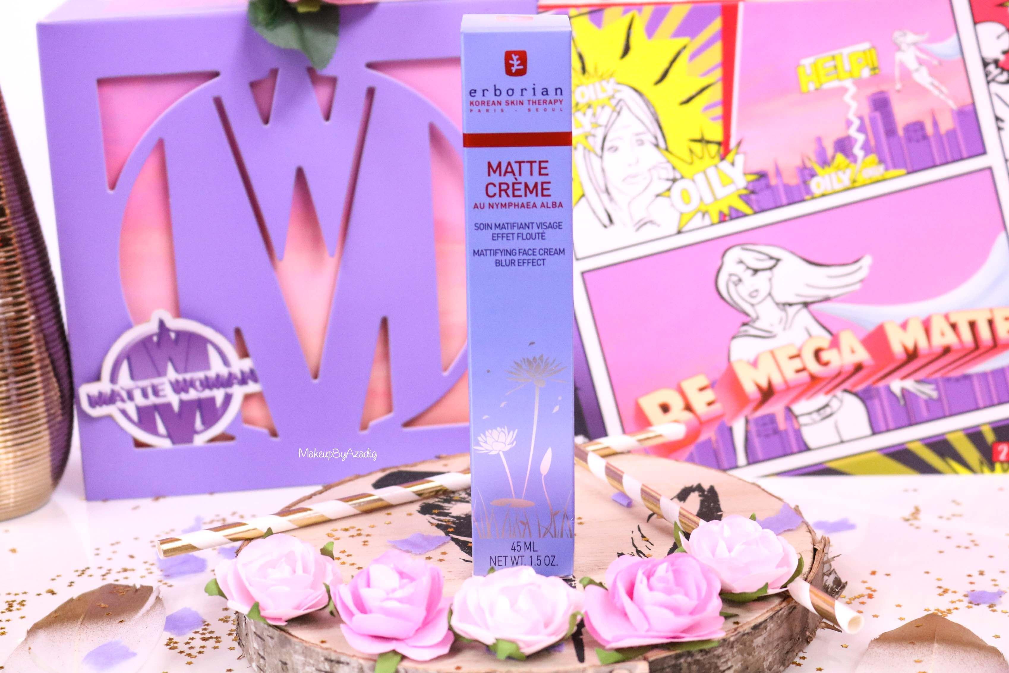 revue-matte-creme-matifiant-floute-erborian-prix-avis-makeupbyazadig-nouveaute-sephora-korean