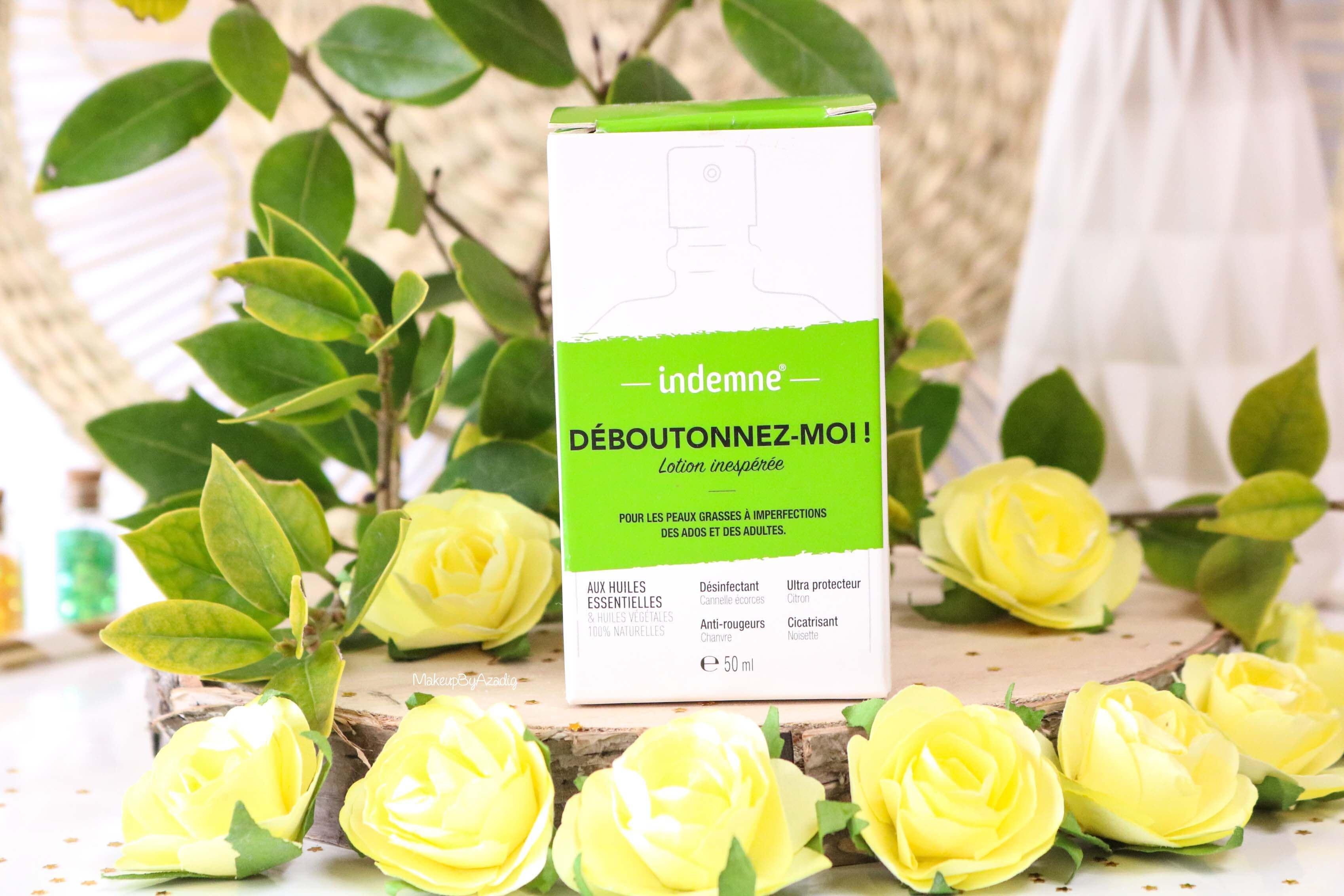 revue-deboutonnez-moi-indemne-produit-acnee-bio-huiles-parapharmacie-prix-avis-makeupbyazadig-packaging