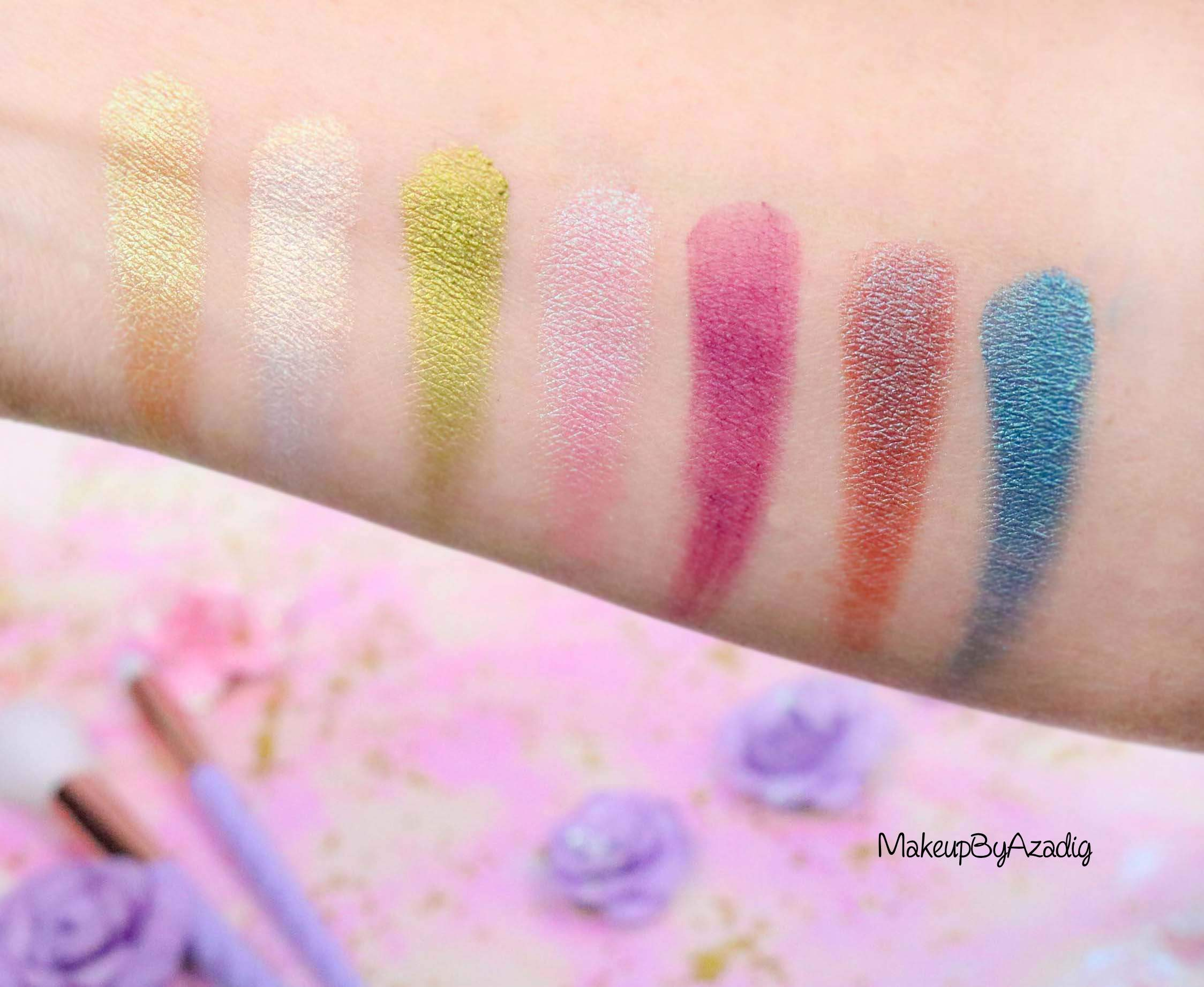 revue-palette-lifes-a-festival-too-faced-france-sephora-avis-prix-revue-makeupbyazadig-collection-licorne-coachella