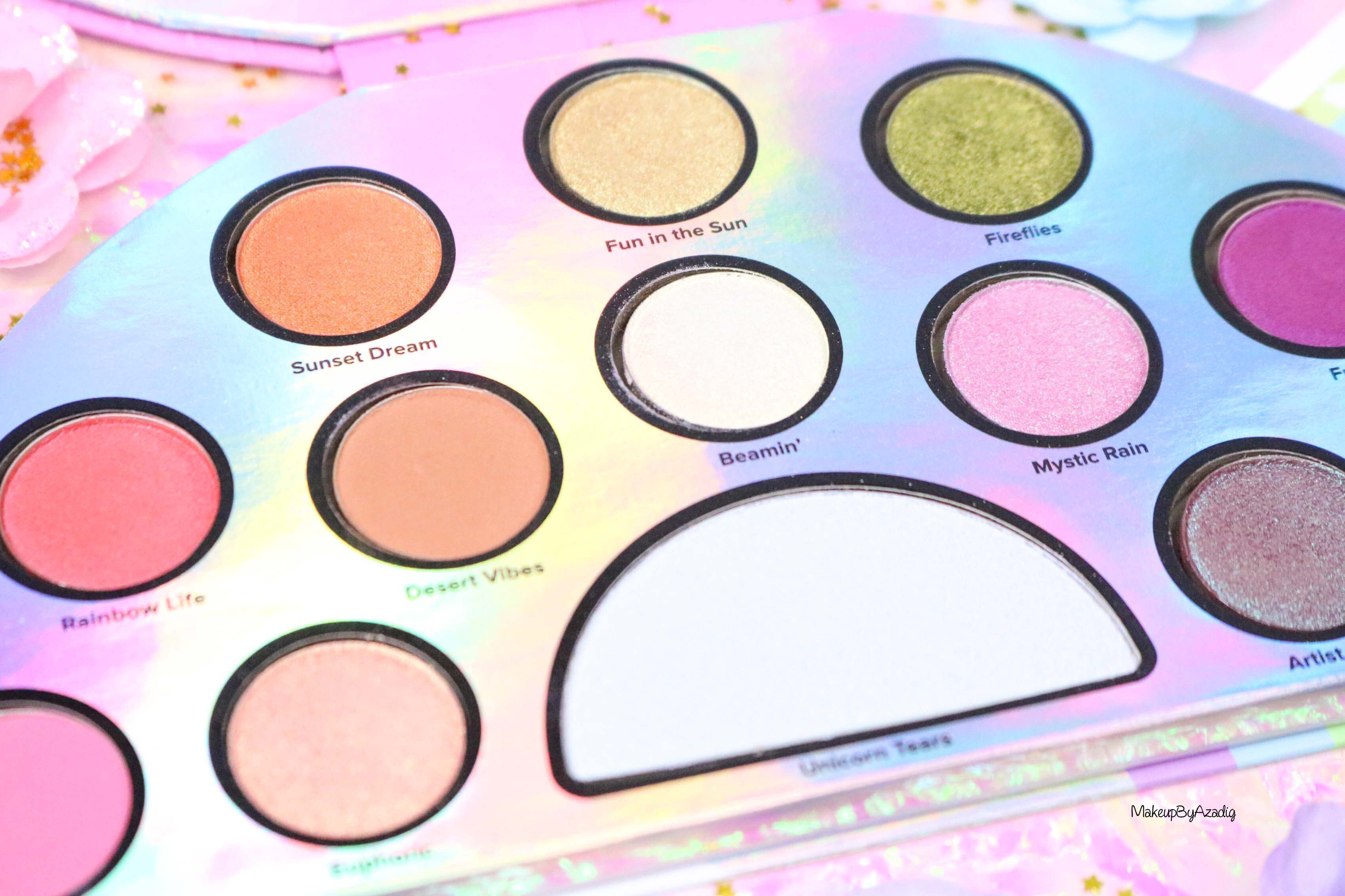 revue-palette-lifes-a-festival-too-faced-france-sephora-avis-prix-revue-makeupbyazadig-collection-licorne-zoom