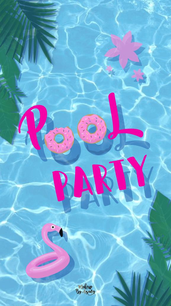 fond-decran-pool-party-samsung-iphone-6-7-8-makeupbyazadig-tendance