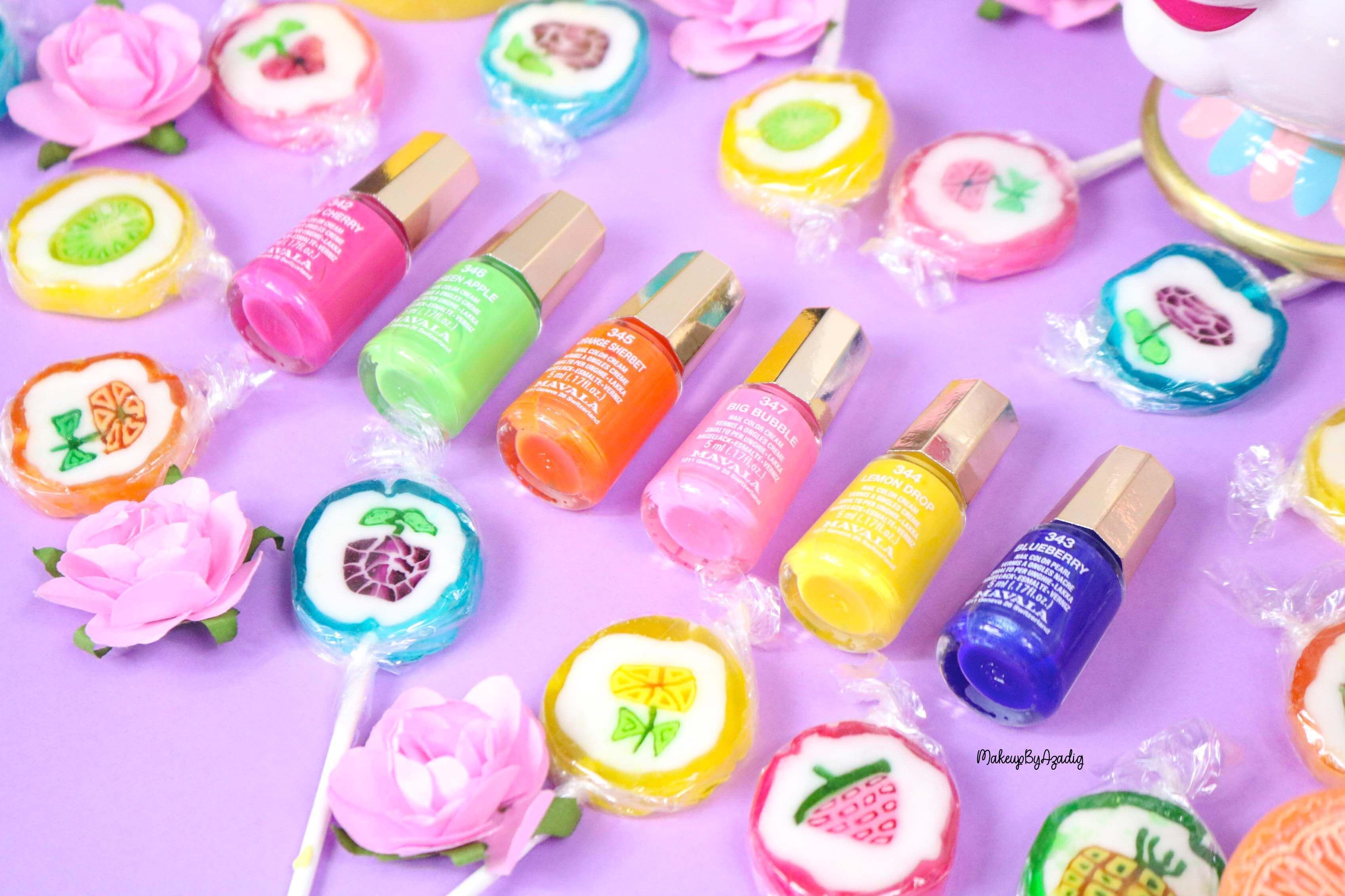 nouvelle-collection-vernis-tendance-printemps-ete-mavala-pas-cher-makeupbyazadig-avis-prix-monoprix-bubble-gum-candy