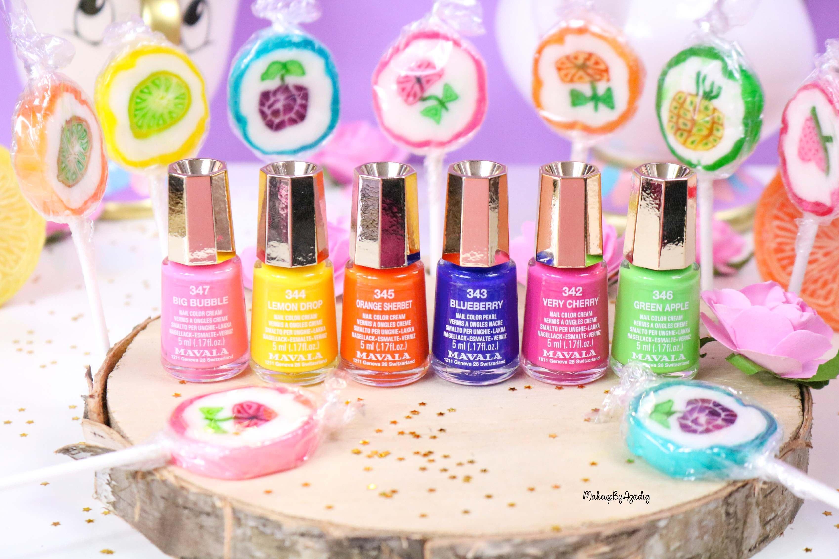 nouvelle-collection-vernis-tendance-printemps-ete-mavala-pas-cher-makeupbyazadig-avis-prix-monoprix-bubble-gum-colors