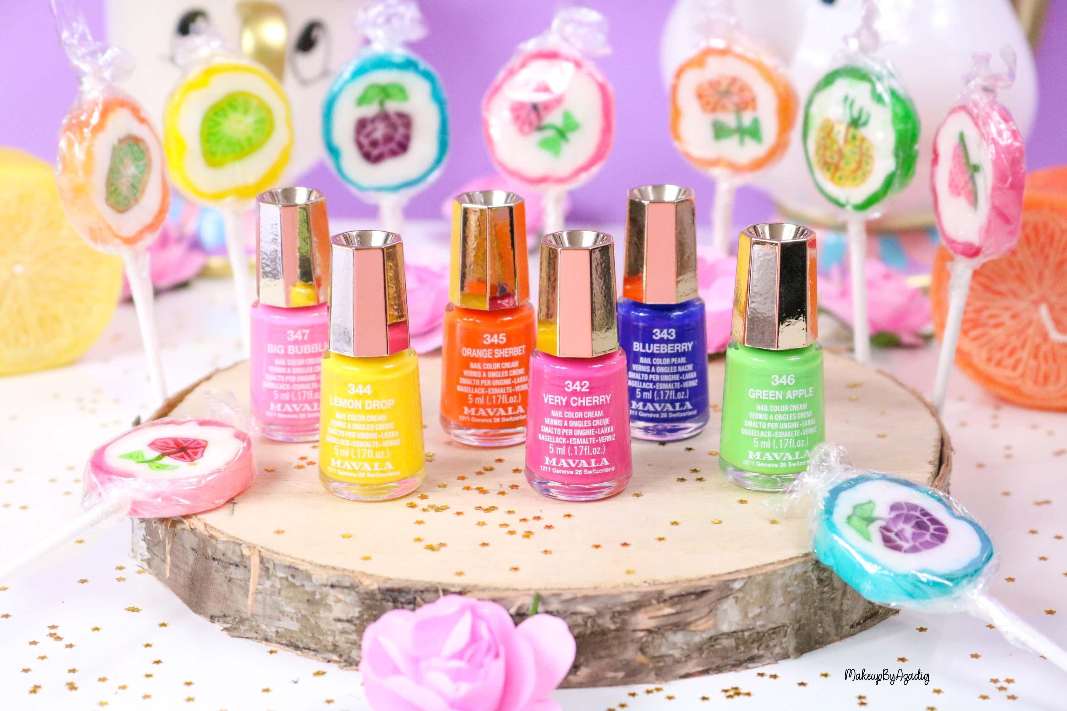 nouvelle-collection-vernis-tendance-printemps-ete-mavala-pas-cher-makeupbyazadig-avis-prix-monoprix-bubble-gum-instagram