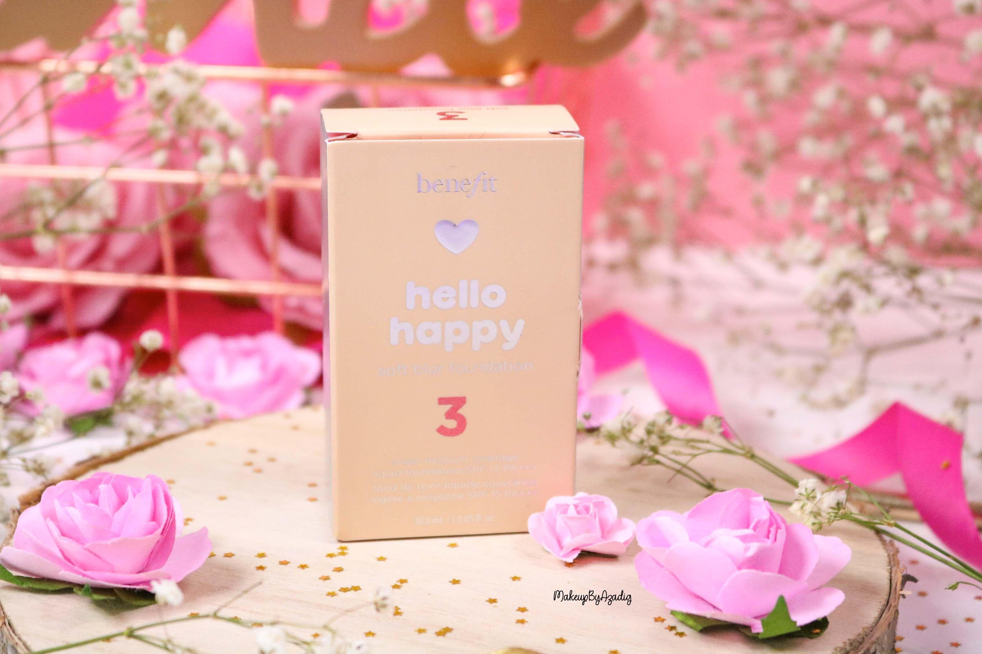 revue-nouveau-fond-de-teint-hello-happy-benefit-sephora-prix-avis-teintes-makeupbyazadig-3