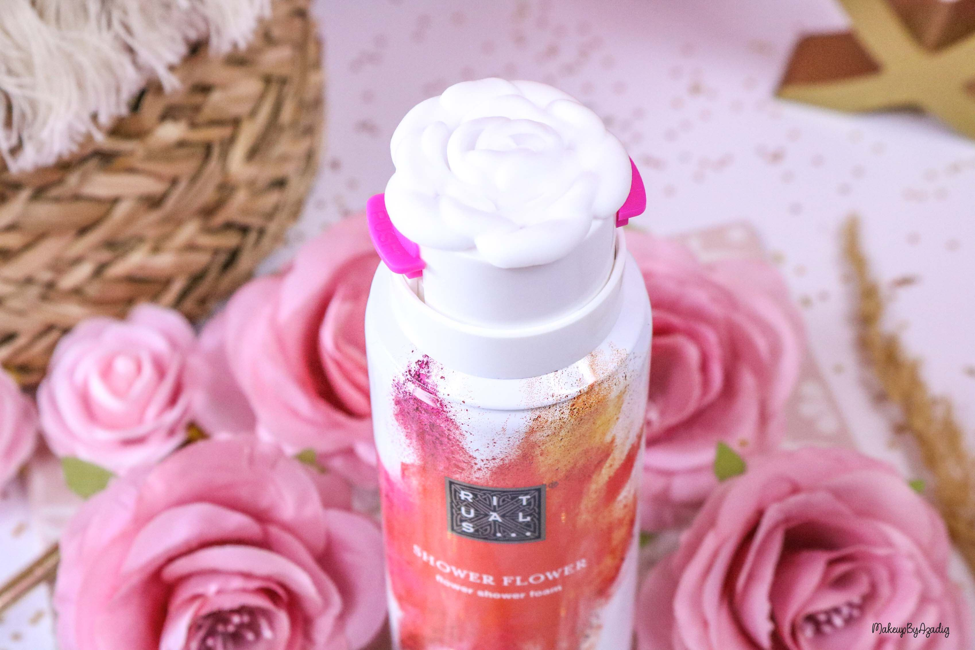 gel-douche-mousse-rituals-shower-flower-foam-ritual-hoi-makeupbyazadig-avis-prix-sephora-france-fleur
